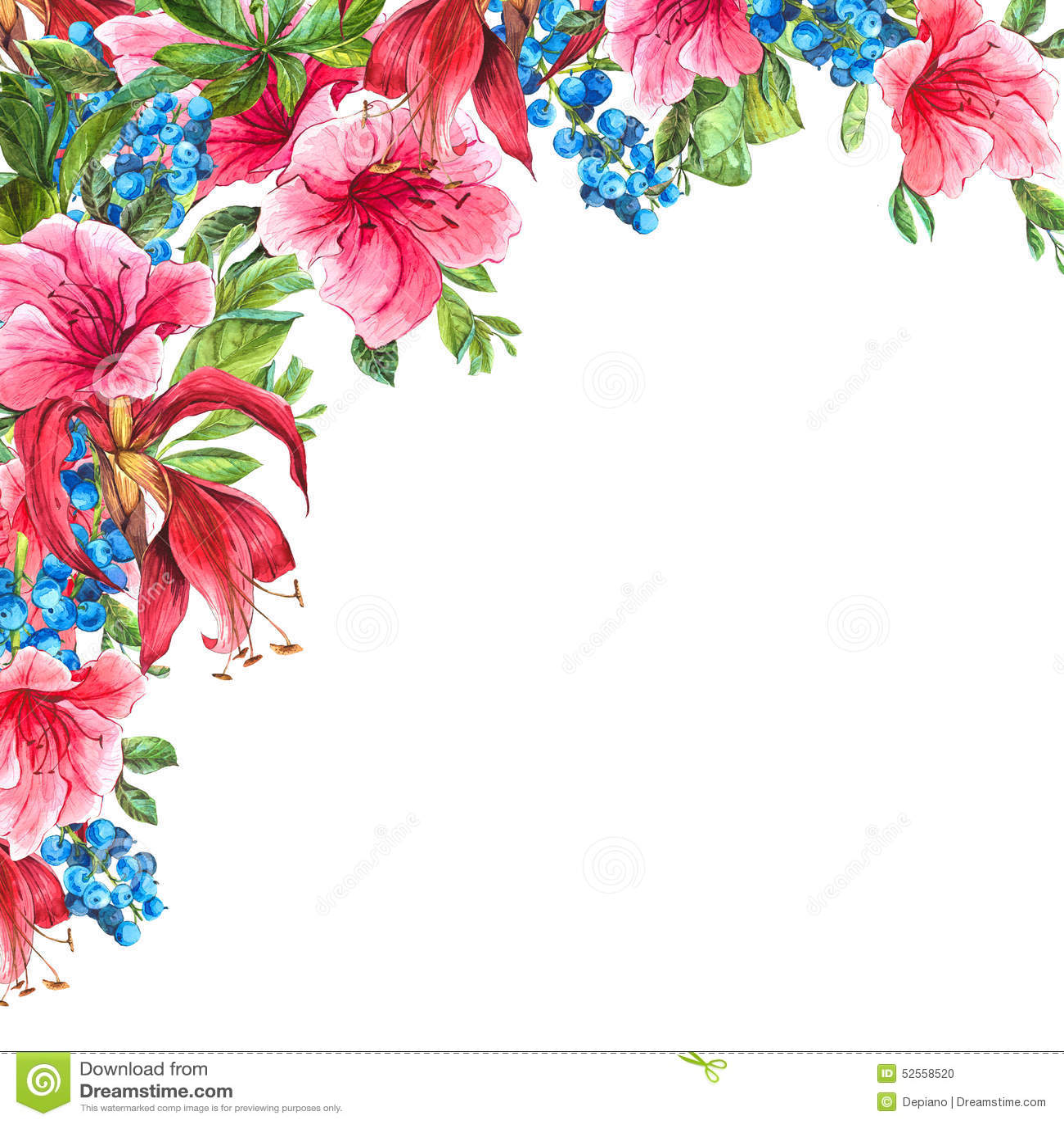 Tropical Floral Wallpaper Vintage Hawaiian