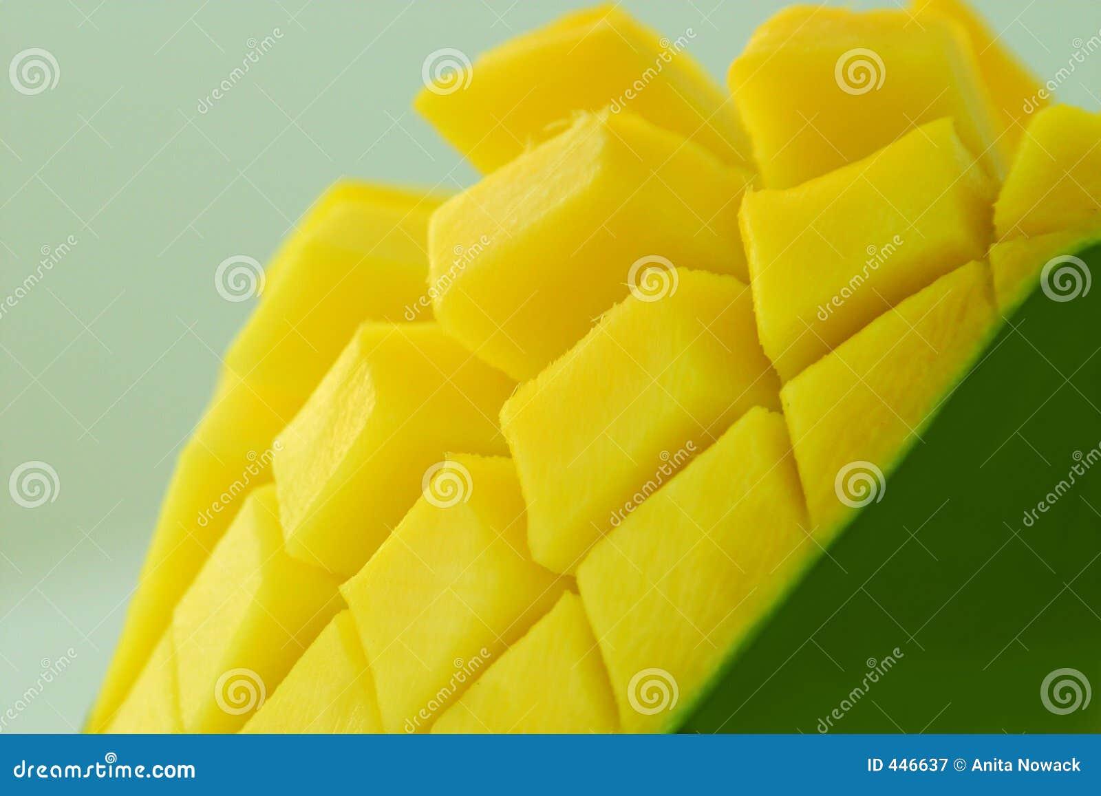 Exotic yellow mango