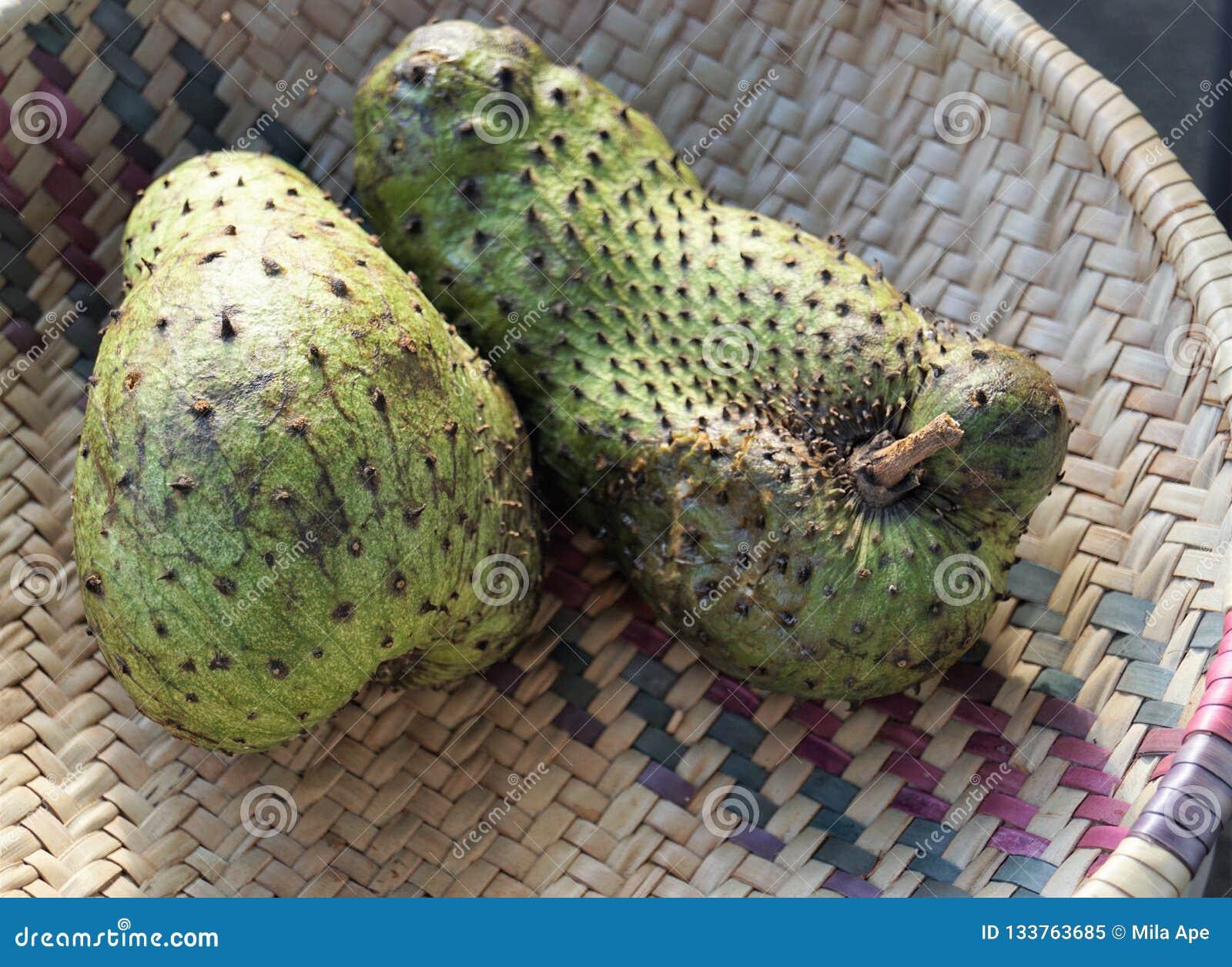Exotische vruchten in Afrika