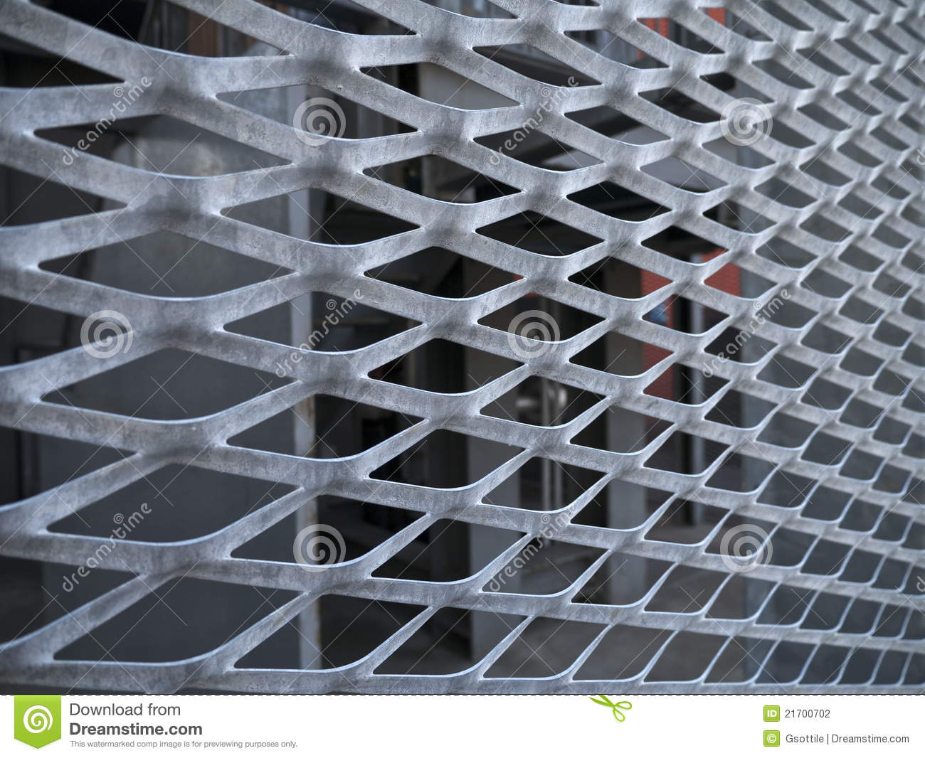 Expanded Metal Stock Photography Image 21700702