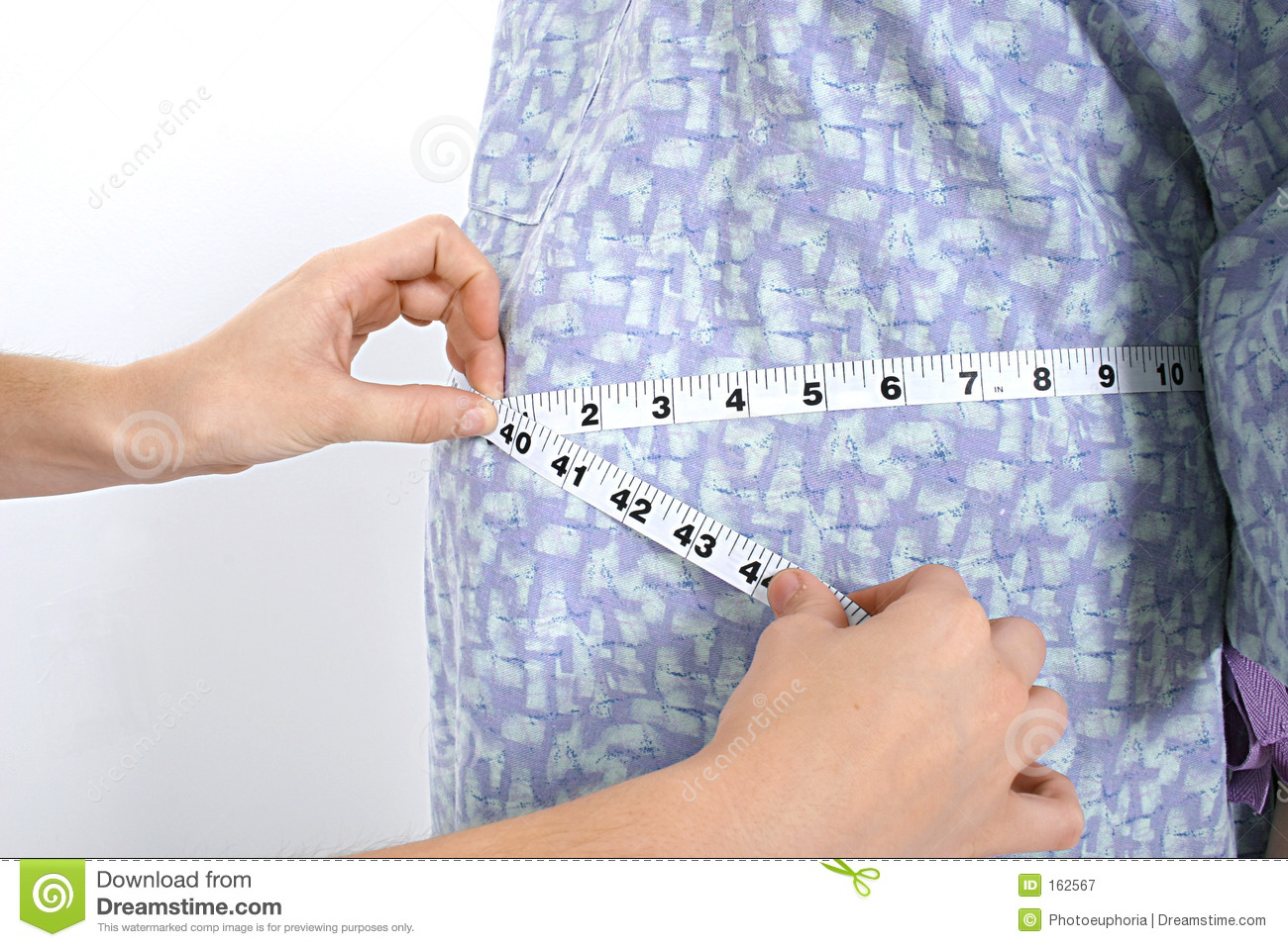 Expecting Mom s Belly Being Measured