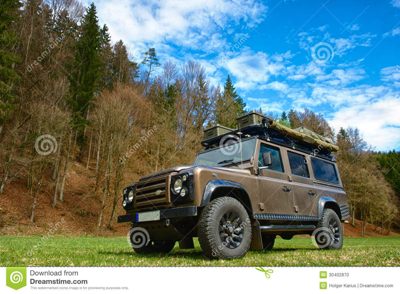 Expedition Vehicle Stock Photo Image Of Brown Roof
