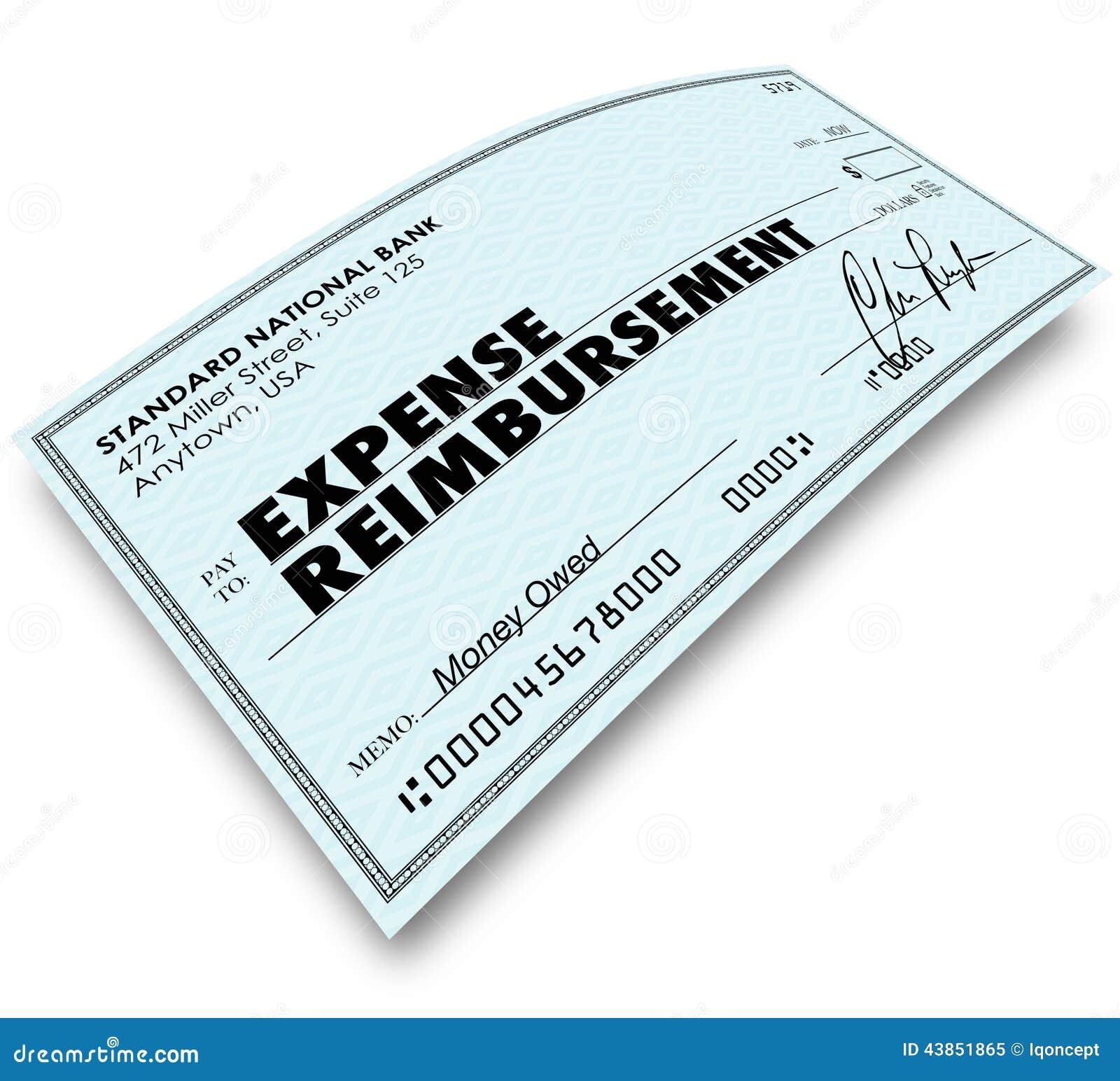 Expense Reimbursement Clipart