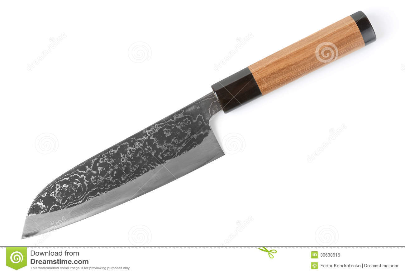 expensive carbon steel japanese knife stock photo image 30638616. Black Bedroom Furniture Sets. Home Design Ideas