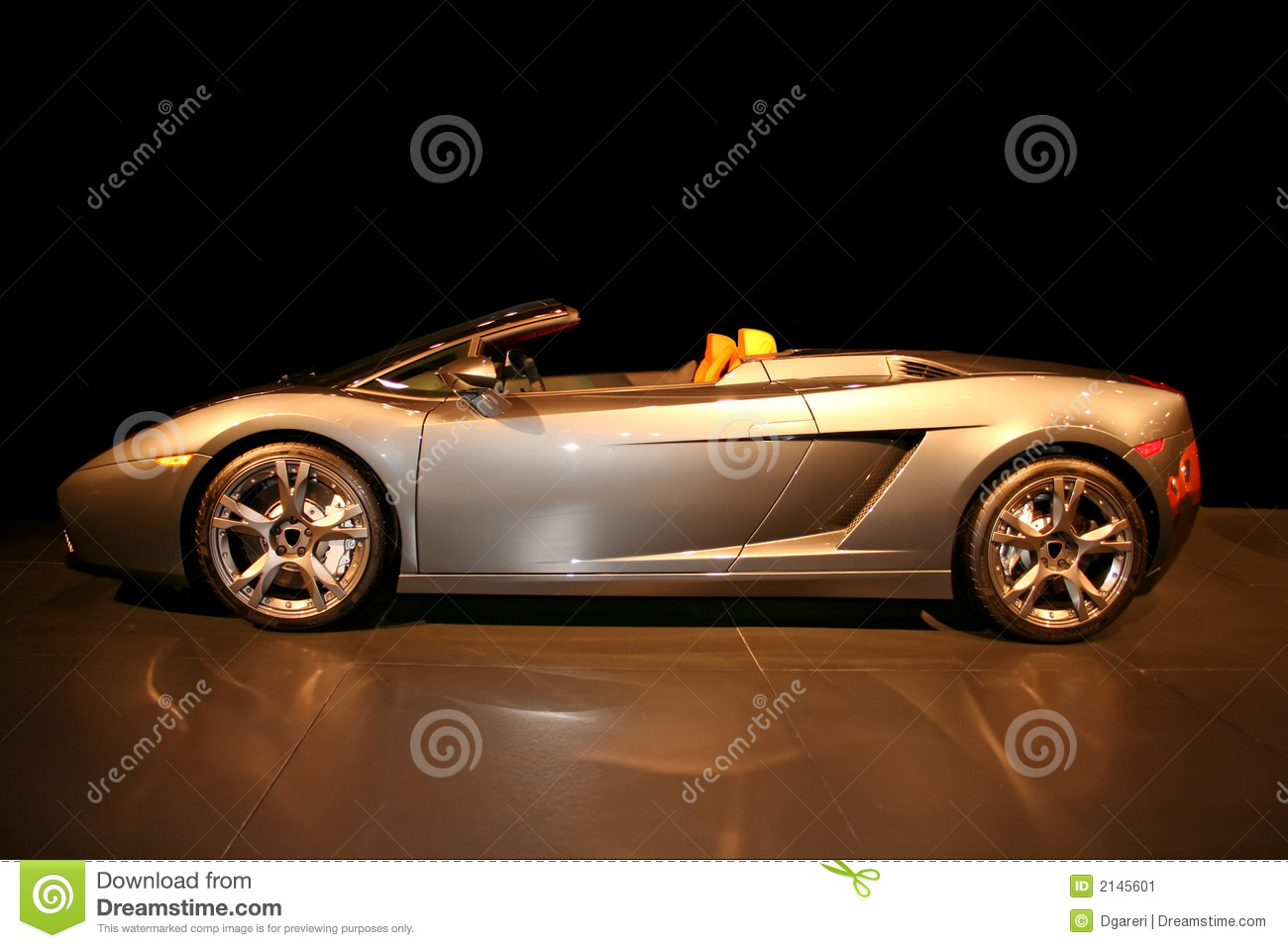 Expensive Fancy Sports Car Stock Image Image 2145601