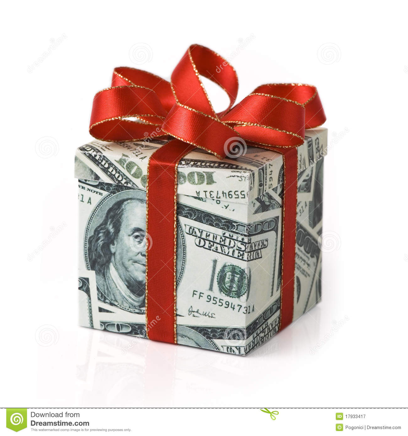 Expensive Gift Stock Image. Image Of Business, Dividends