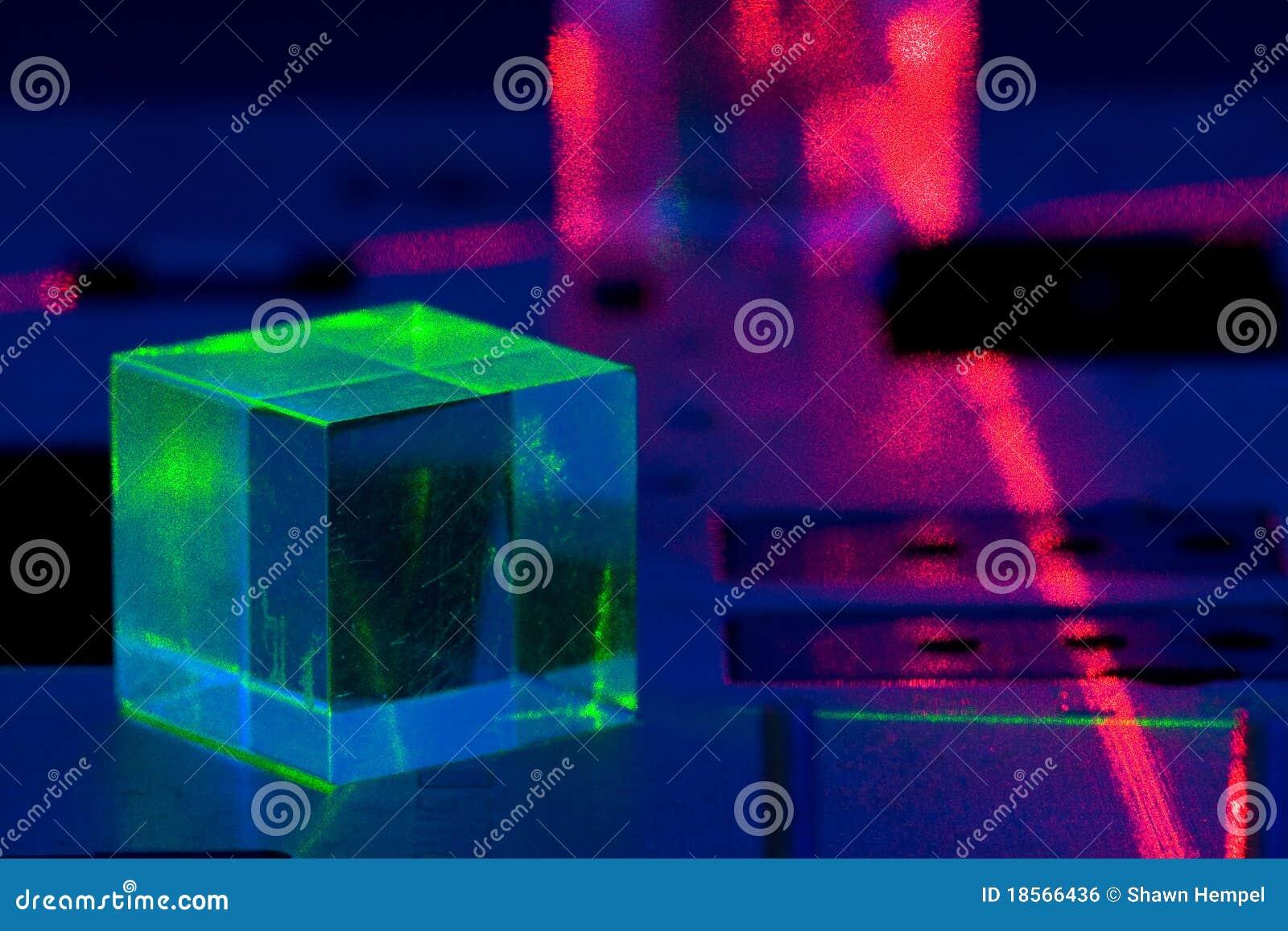 Experiência do laser