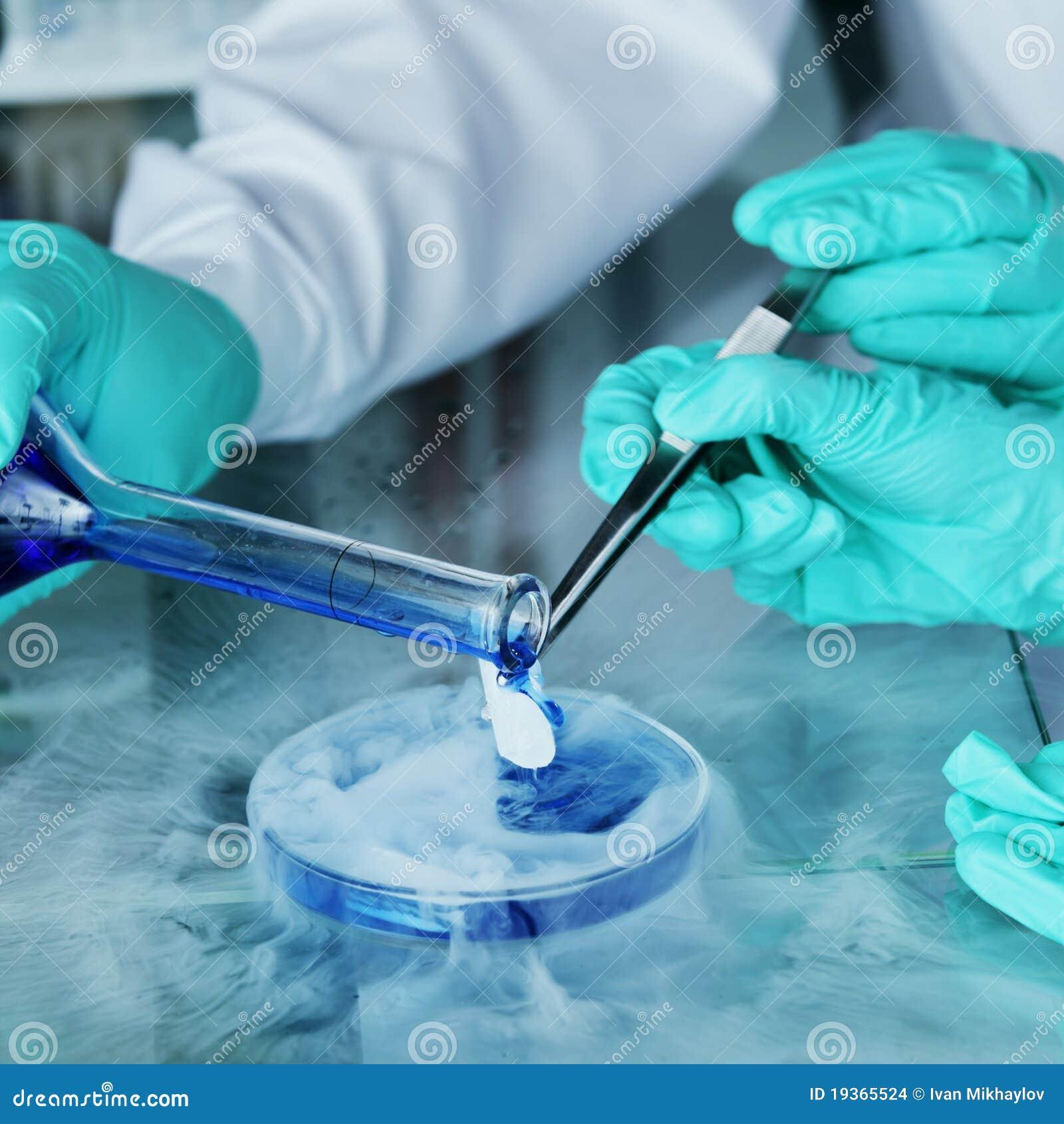 Experiência química
