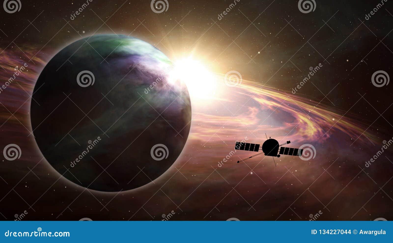Exploration d exoplanet de sonde d espace