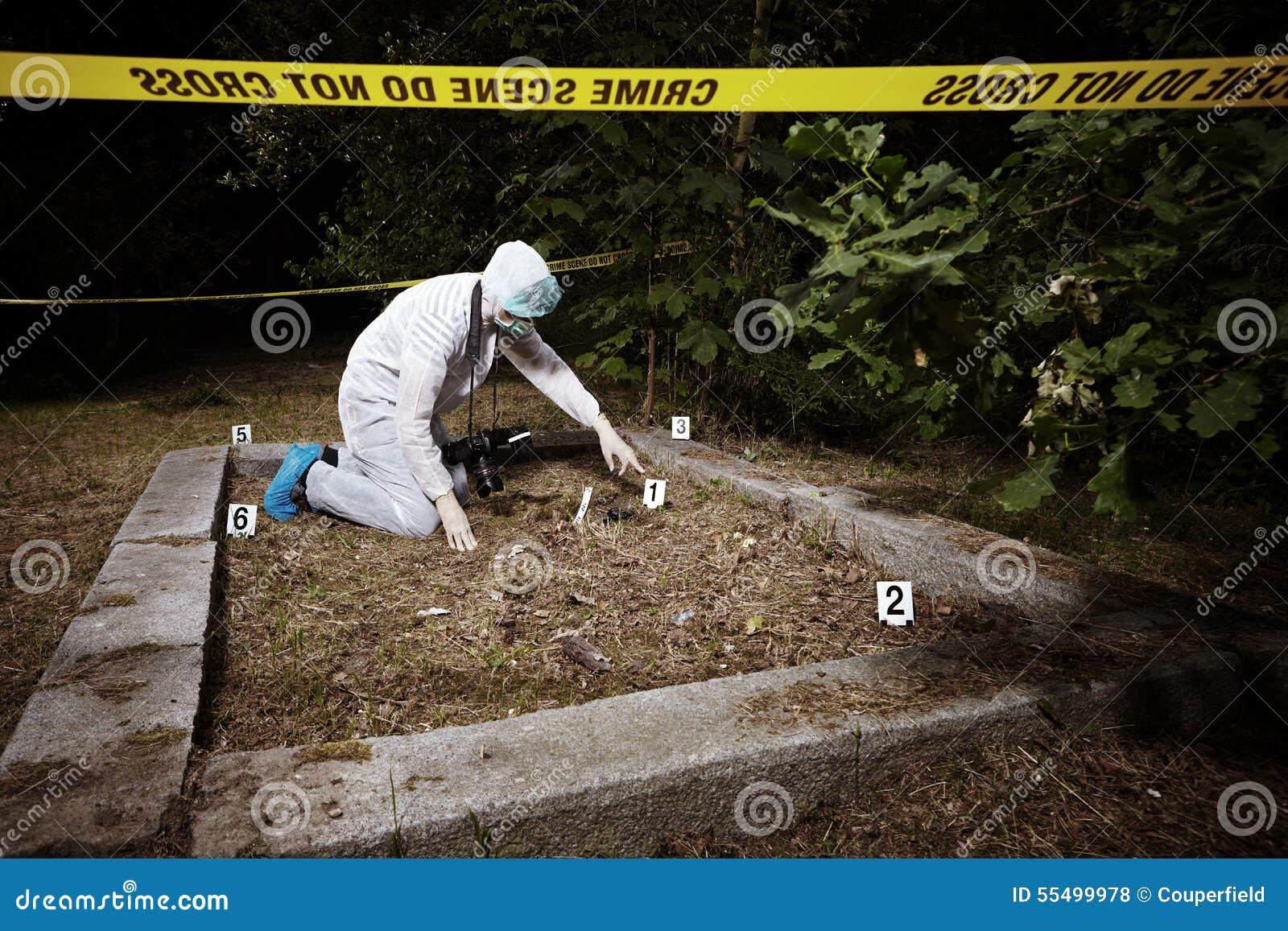 Explorintplaats van misdaad