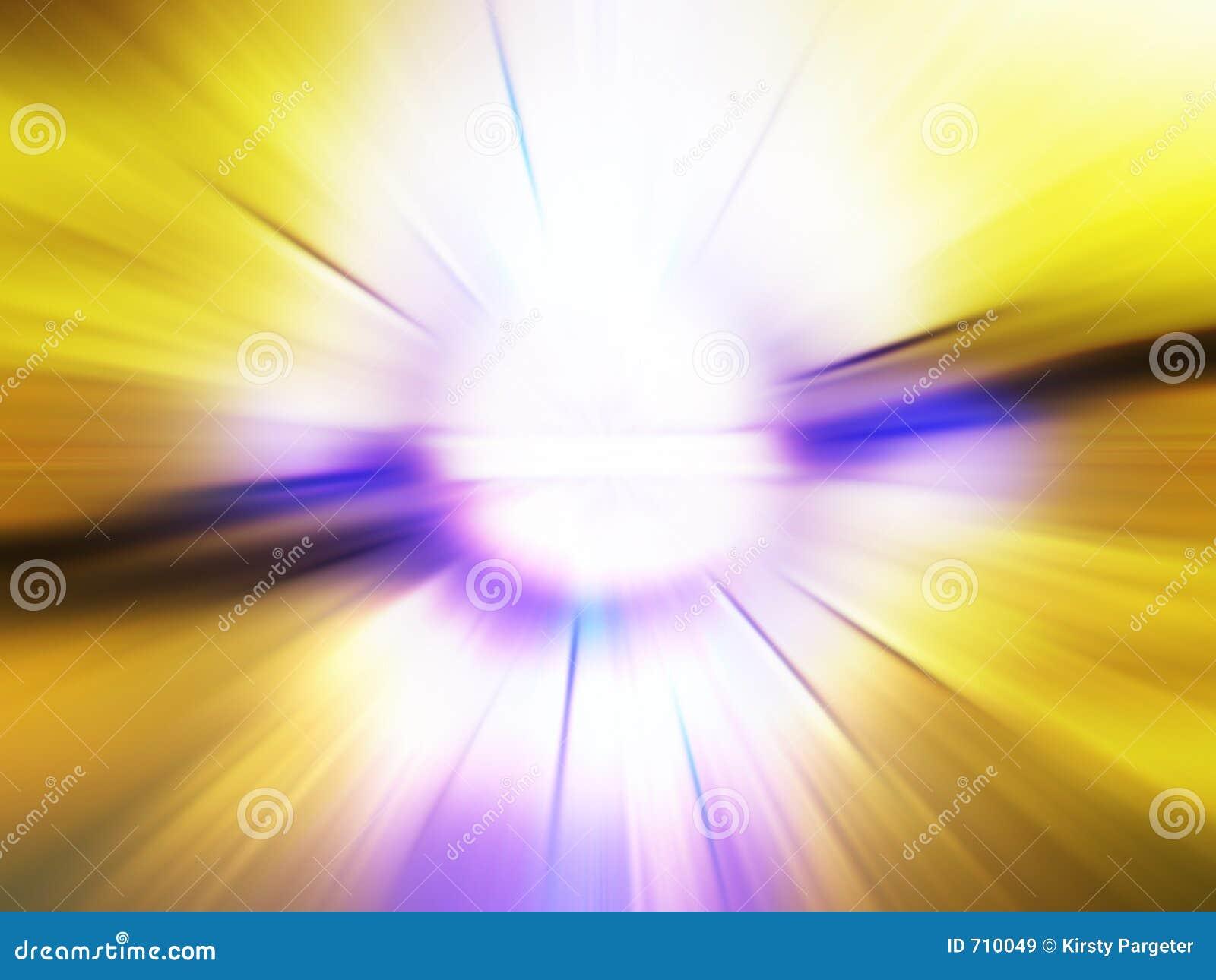 Explosão abstrata