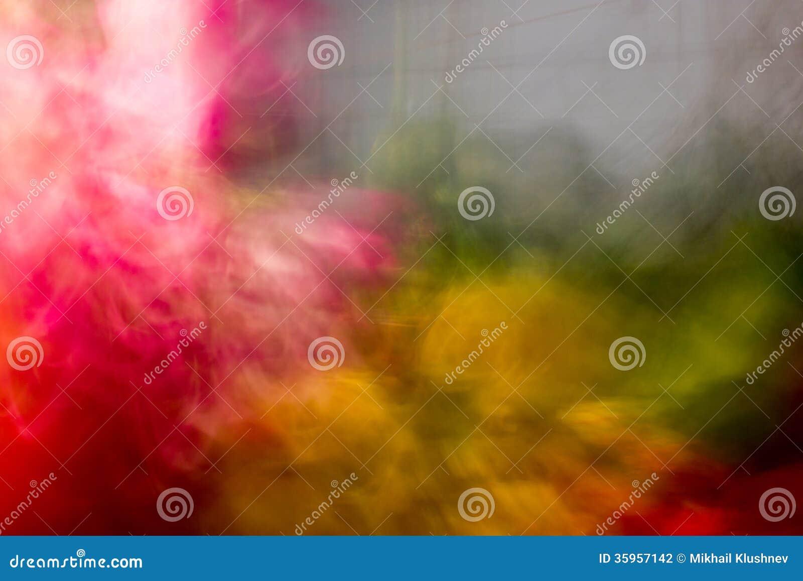 Explosión de color doble.