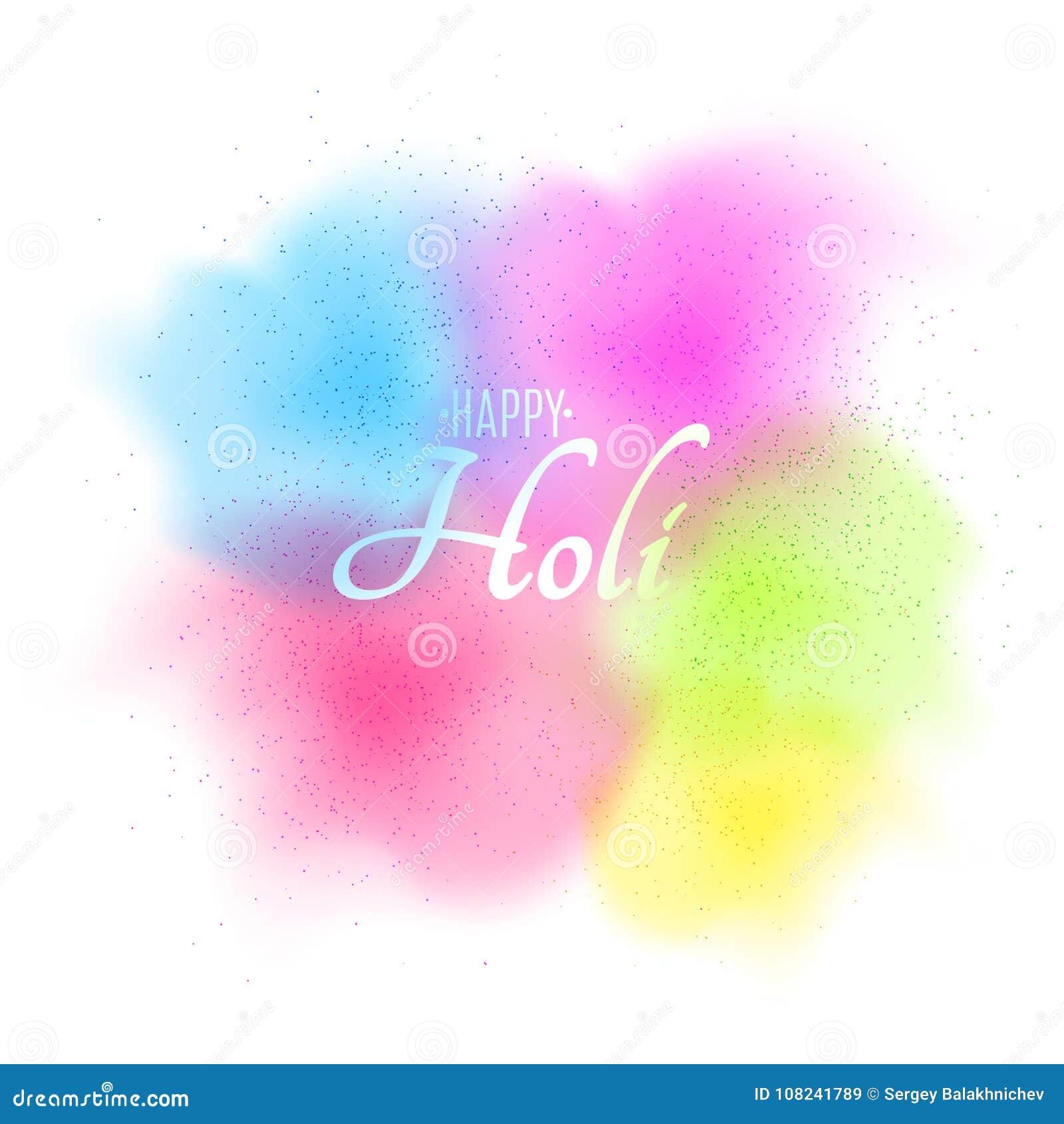 Explosión De Colores Espray Multicolor Aviador Para Holi Feliz Día ...