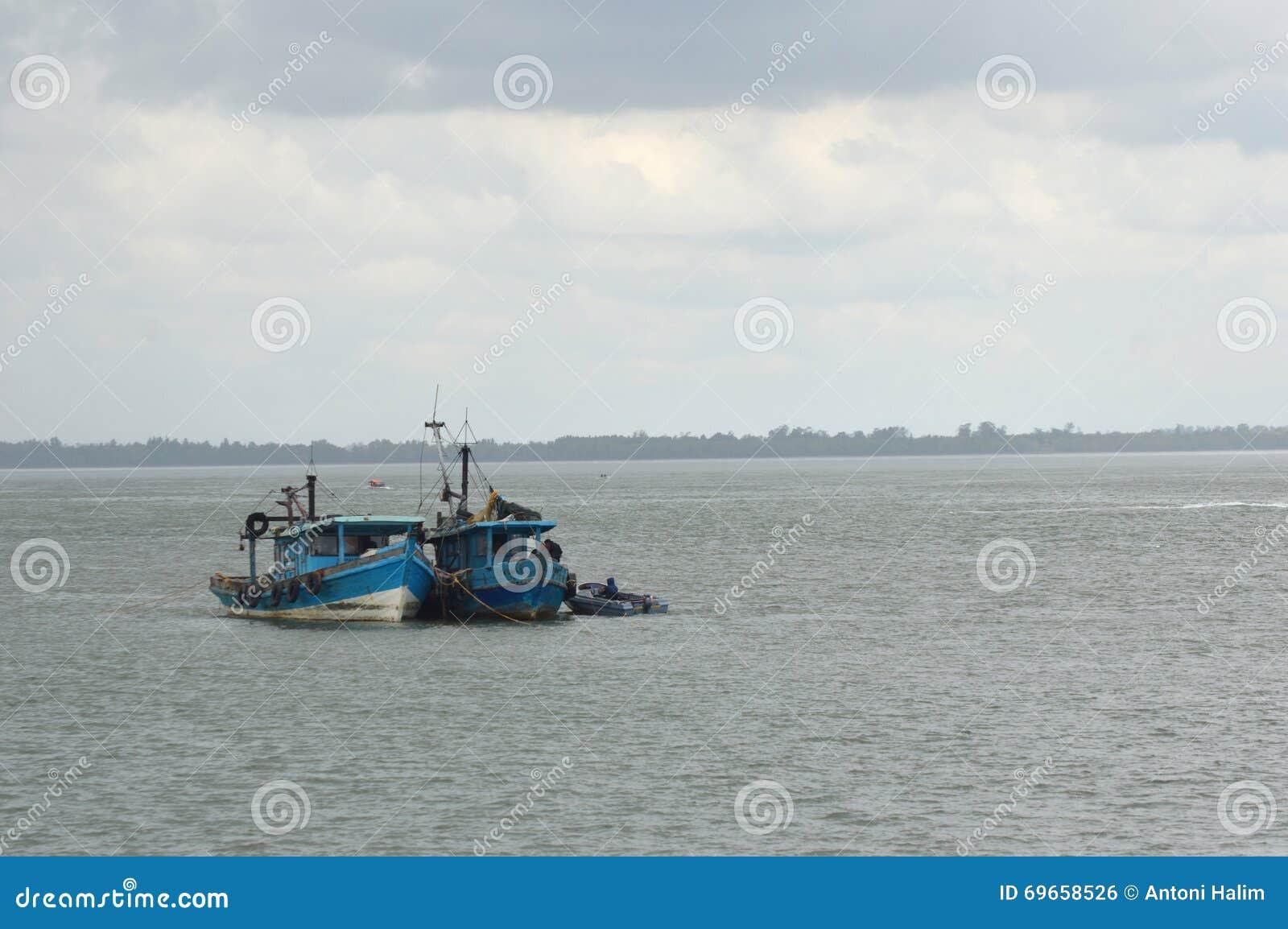 Explosies vissersboot