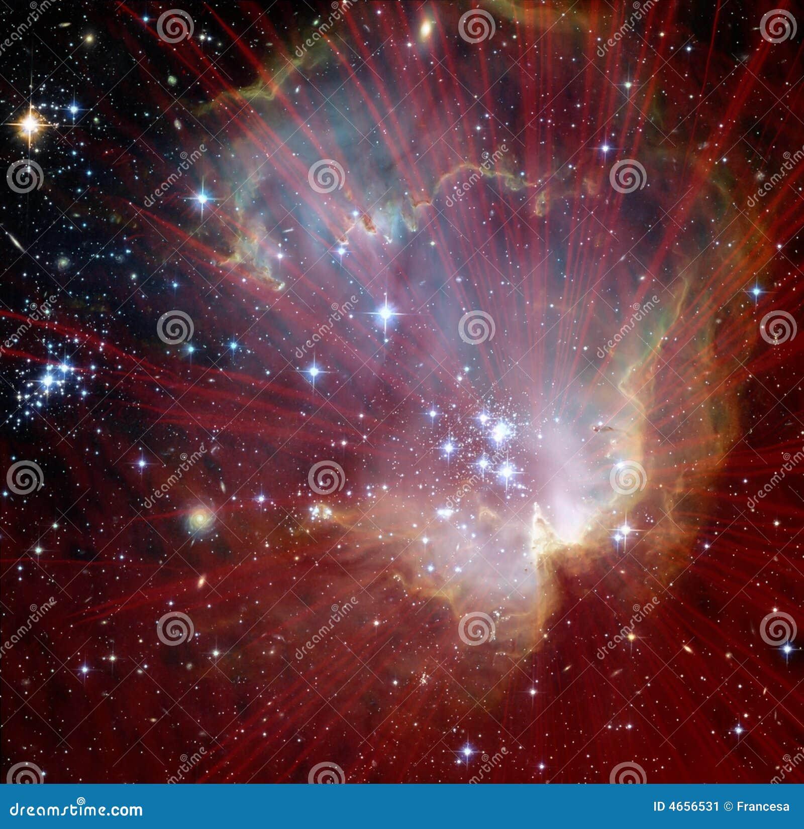 Explosion d étoile