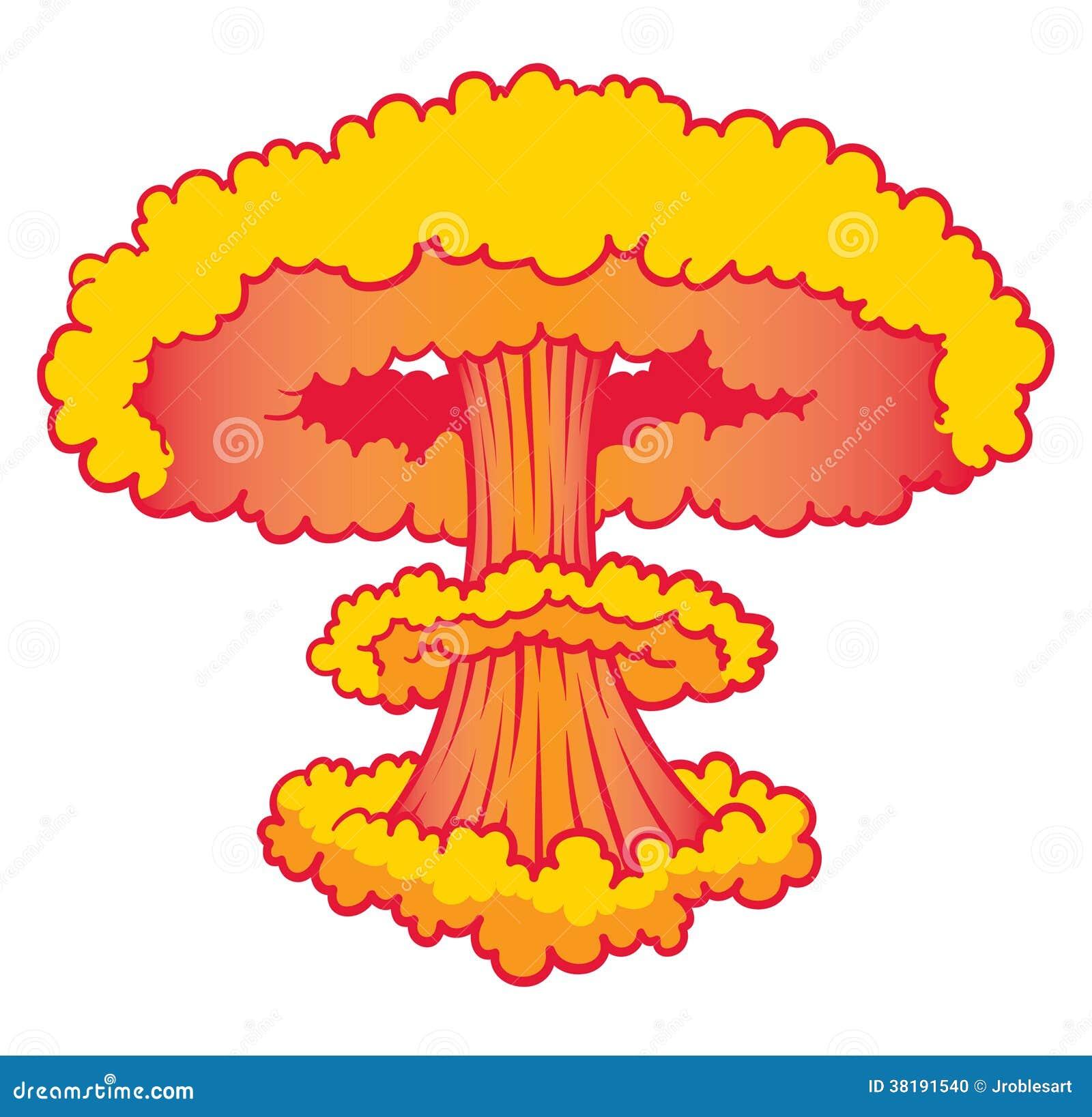 Explosion d arme nucléaire