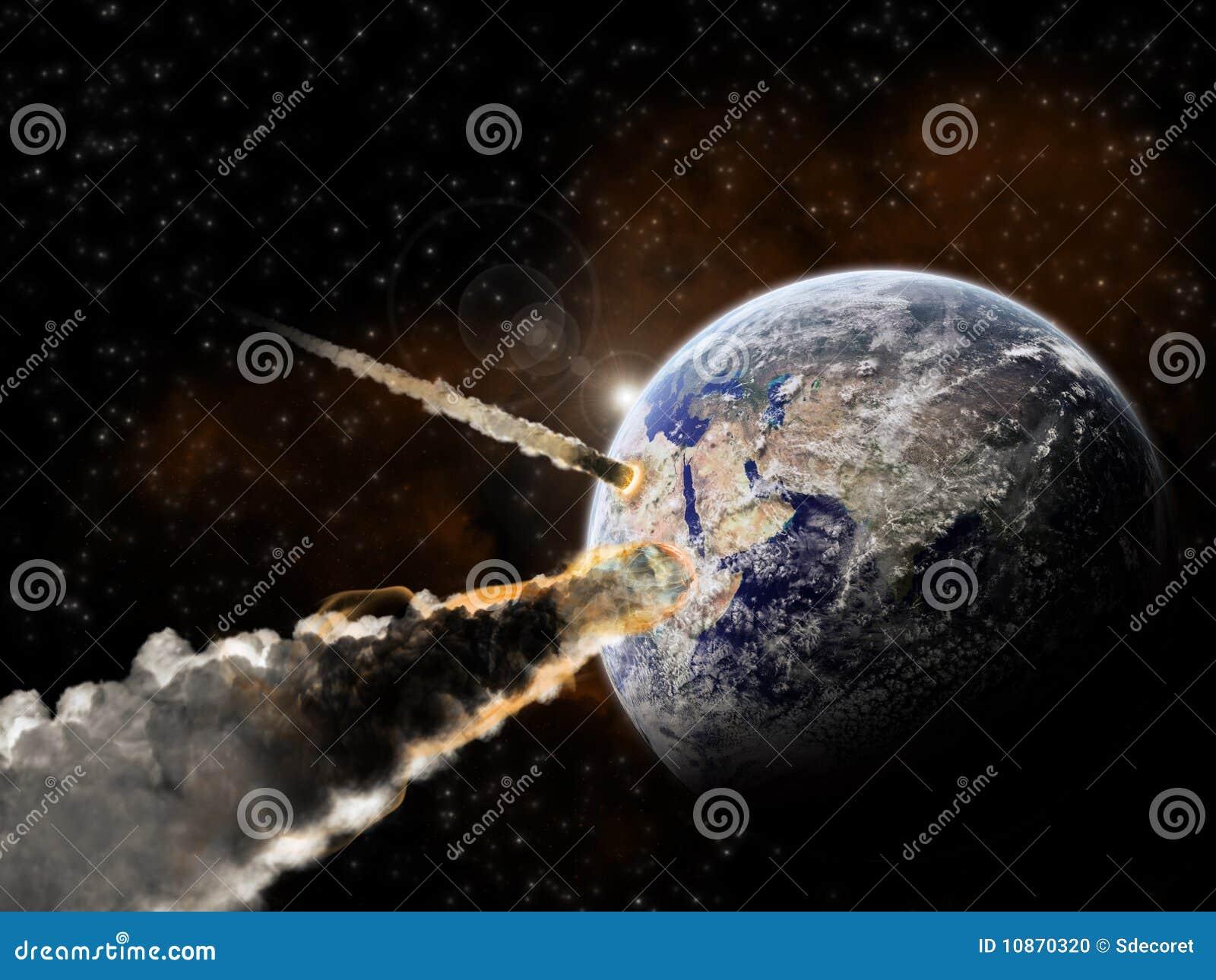 Explosion de planète - exploration d univers