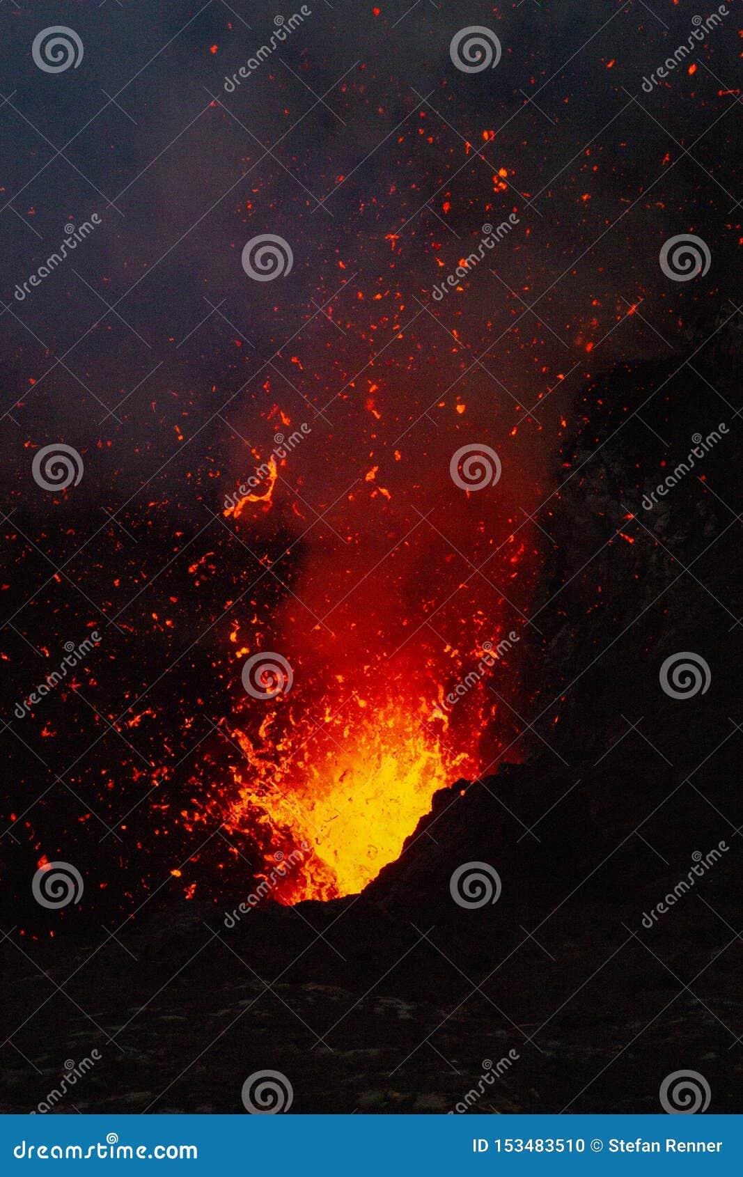 Explosion du feu