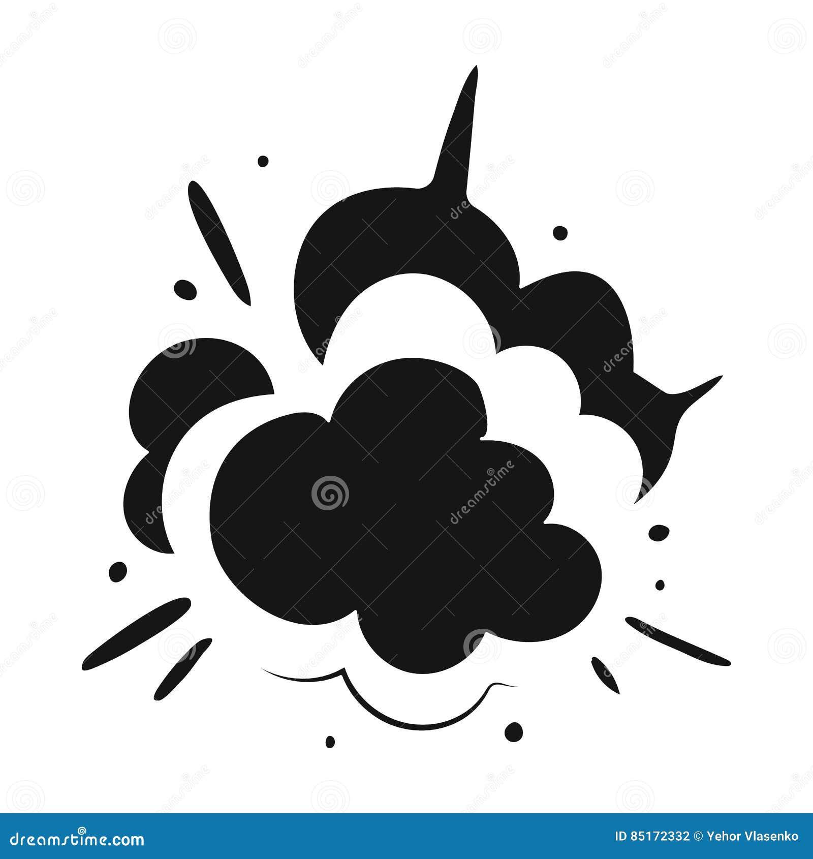 Explosion icon in black style isolated on white background explosion icon in black style isolated on white background explosions symbol stock vector illustration design explode buycottarizona