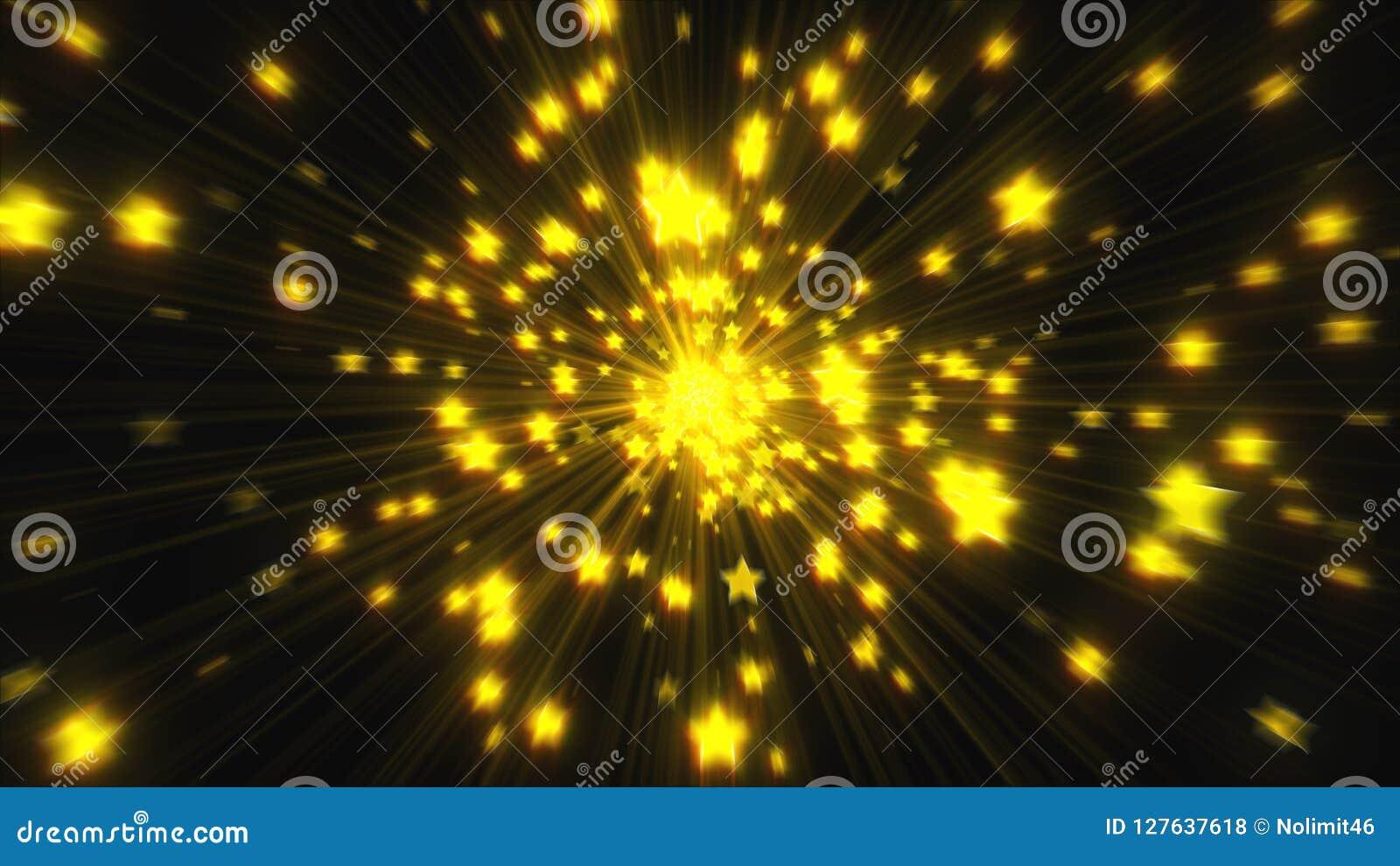 Explosion von vielen spielt mit Glanz, 3d übertragen computererzeugten Hintergrund die Hauptrolle