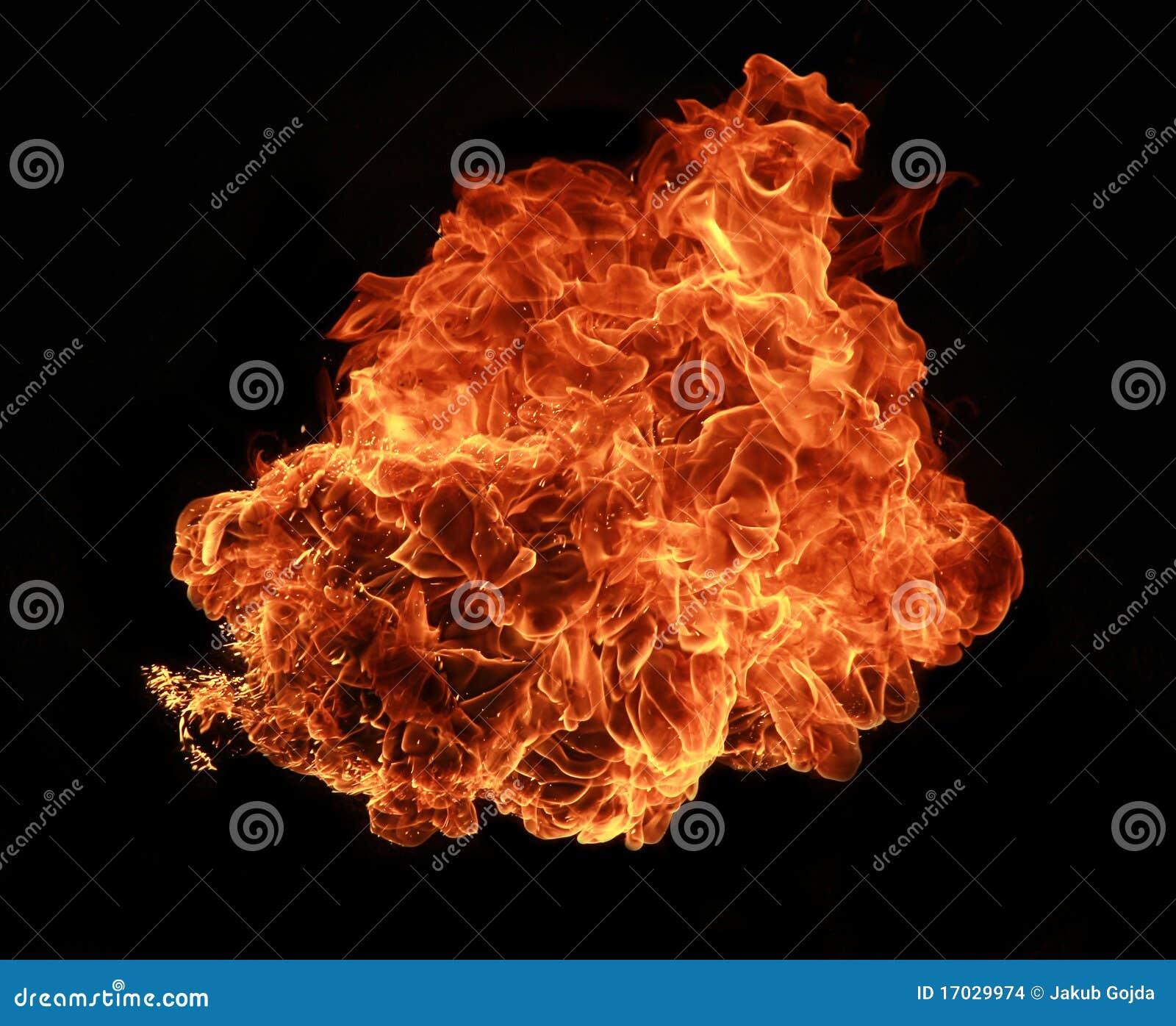 Explosionbrand