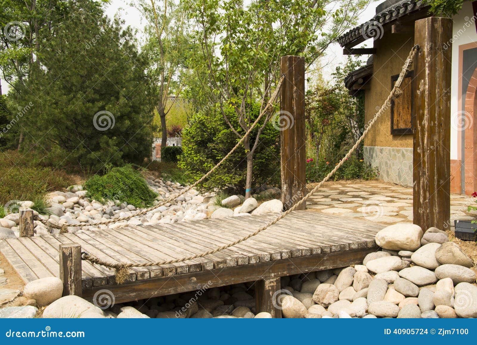 Expo asiatica del giardino di pechino di cinese ponte di for Giardino cinese