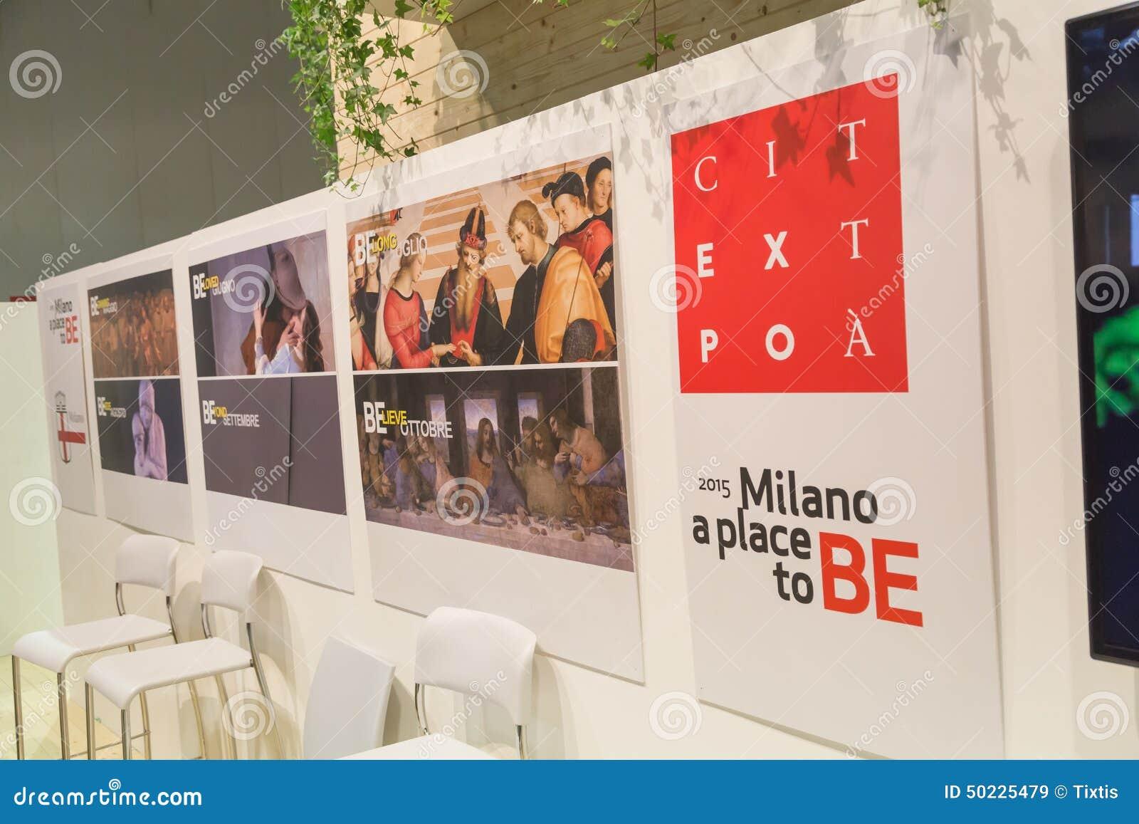 Expo Banner At Bit 2015, International Tourism Exchange In ...