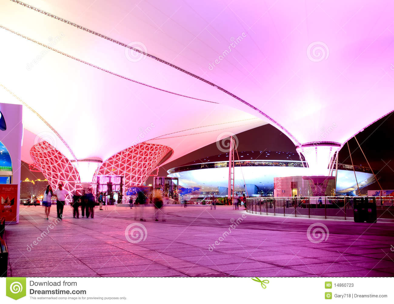 The Expo Boulevard at World Expo in Shanghai