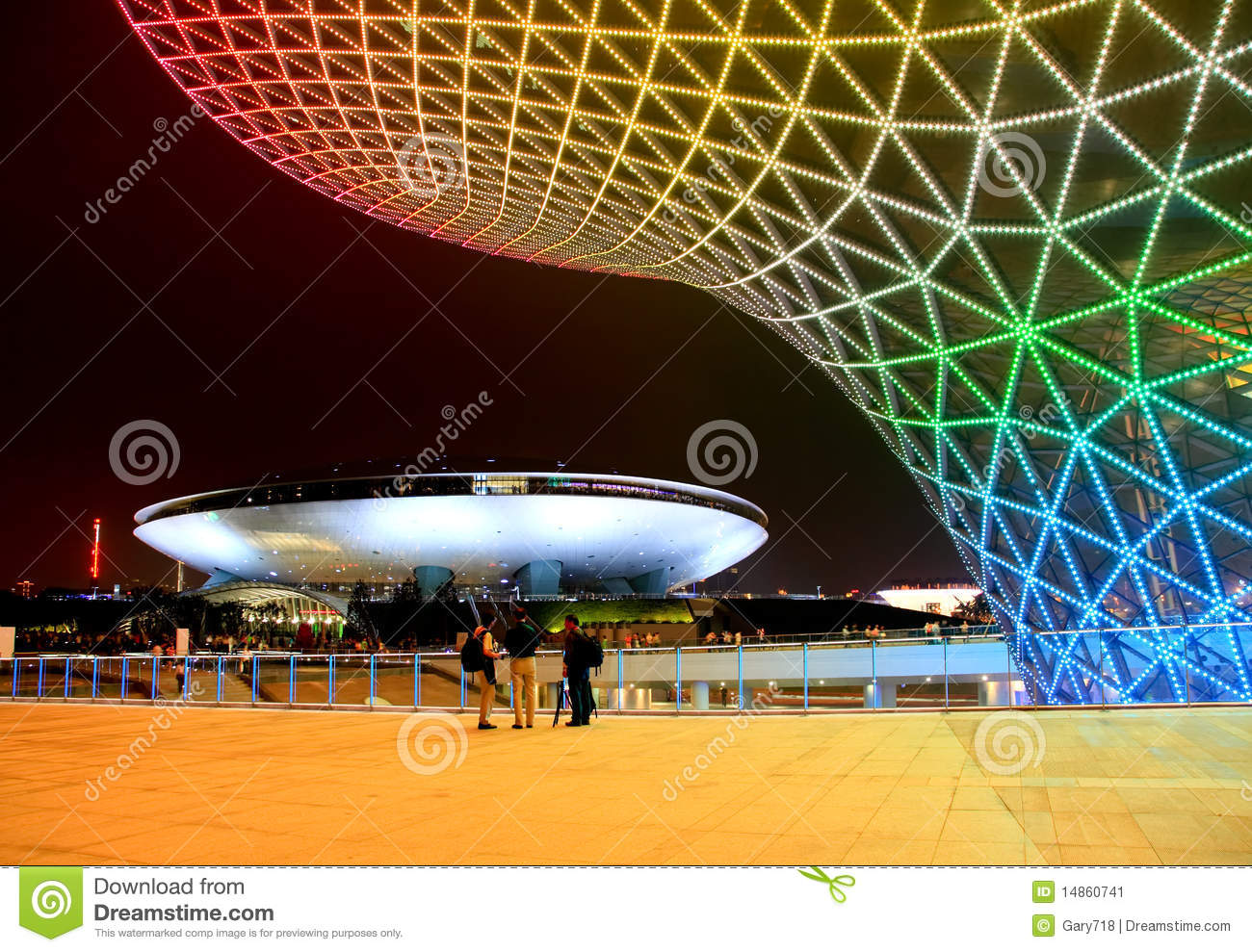 Download The Expo Boulevard At World Expo In Shanghai Editorial Photo - Image of nightscene, architectural: 14860741