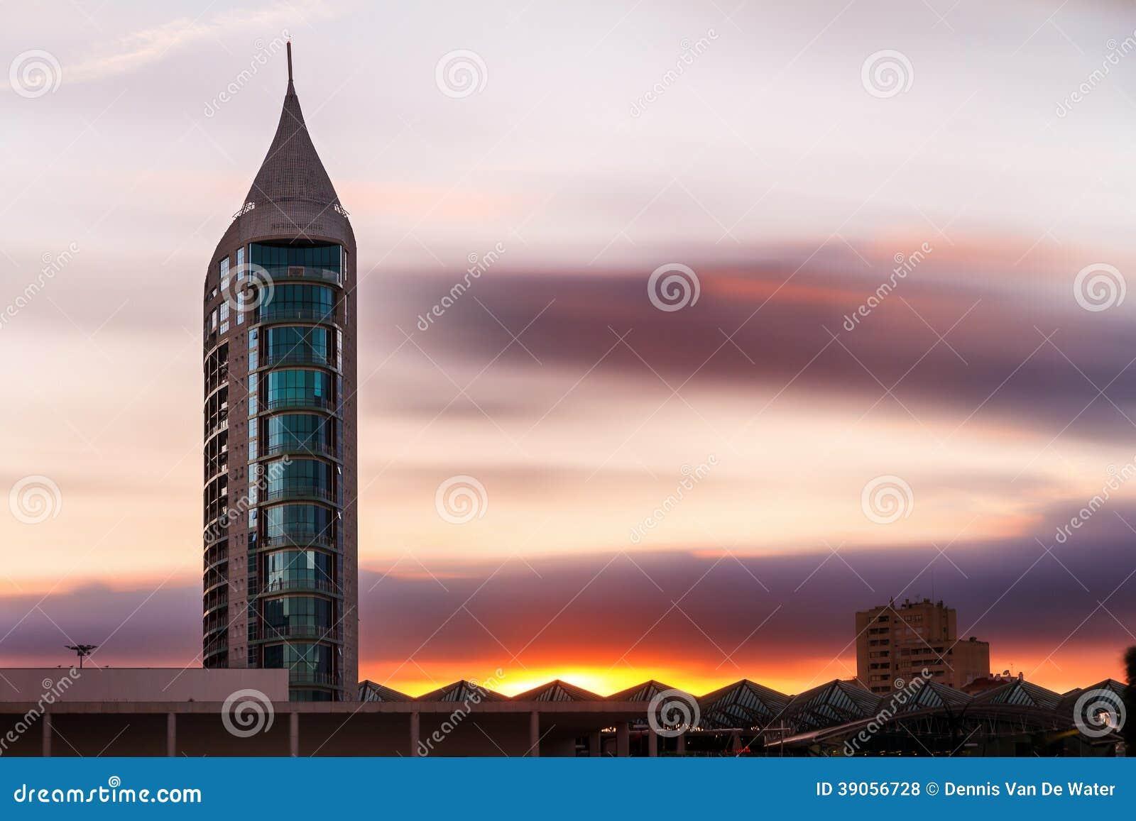 Expo Sunset Stock Photo Image 39056728