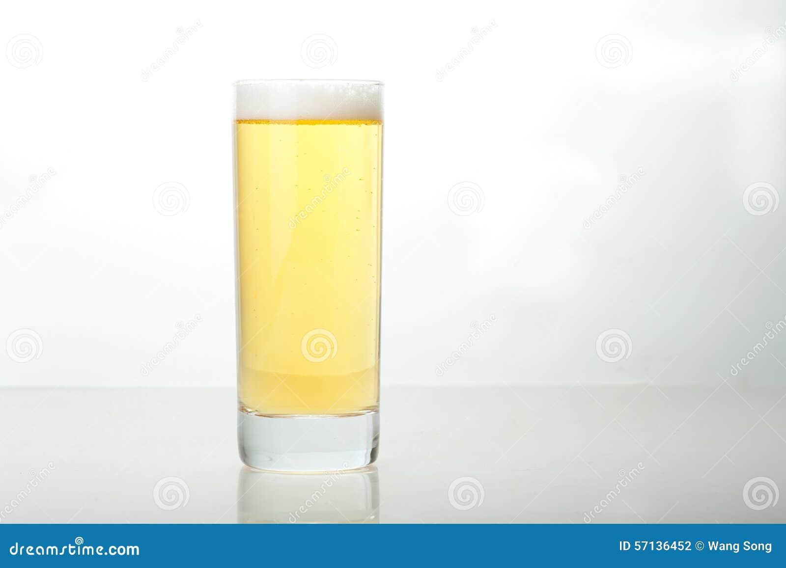 Exponeringsglas av öl