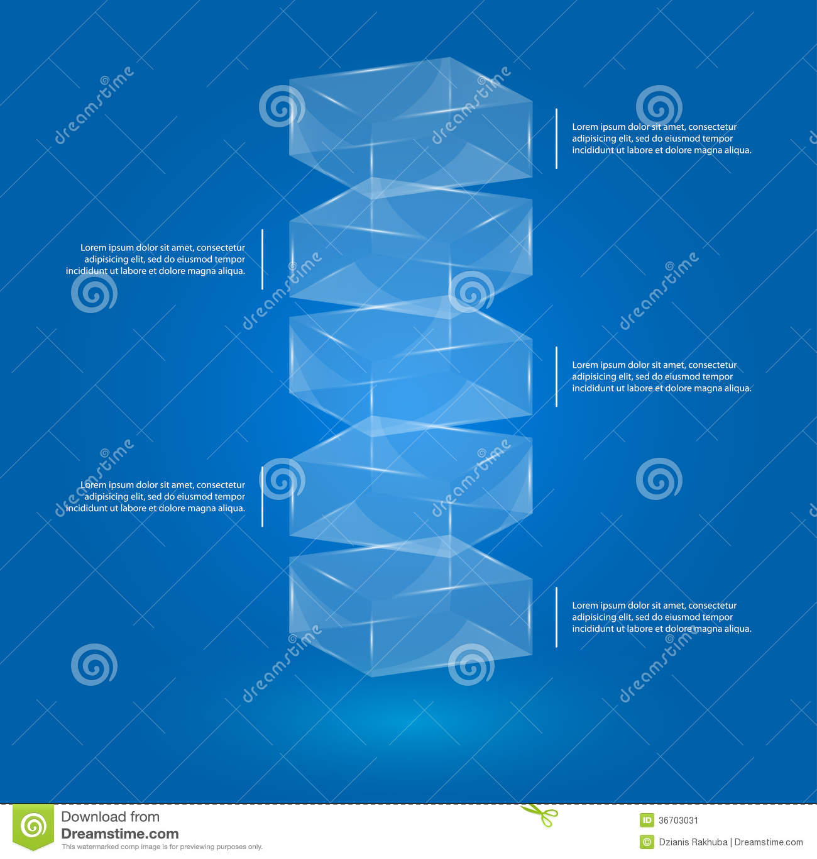 Exponeringsglas boxas infographic