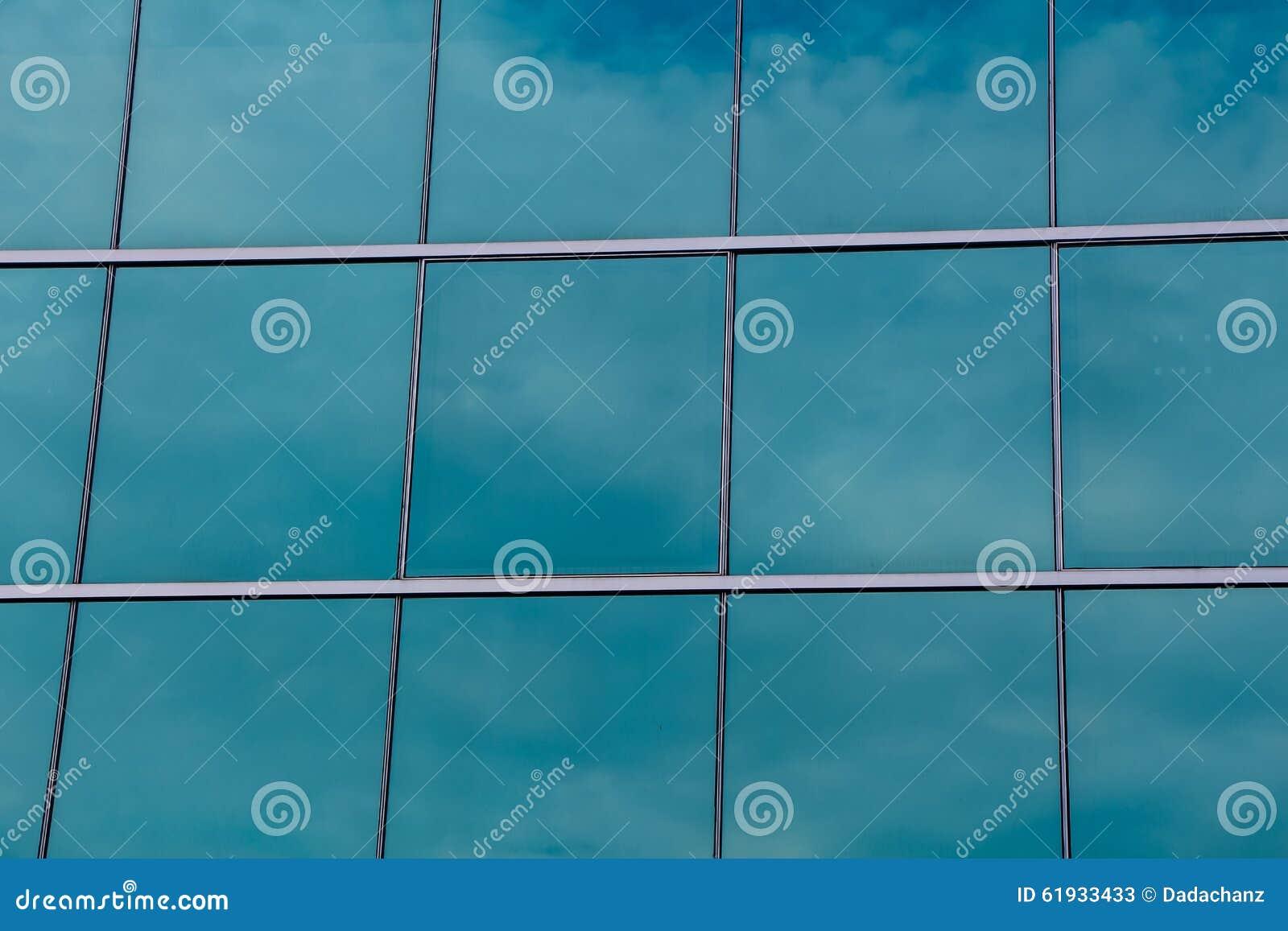 Exponeringsglas för företagsbyggnadsfönster