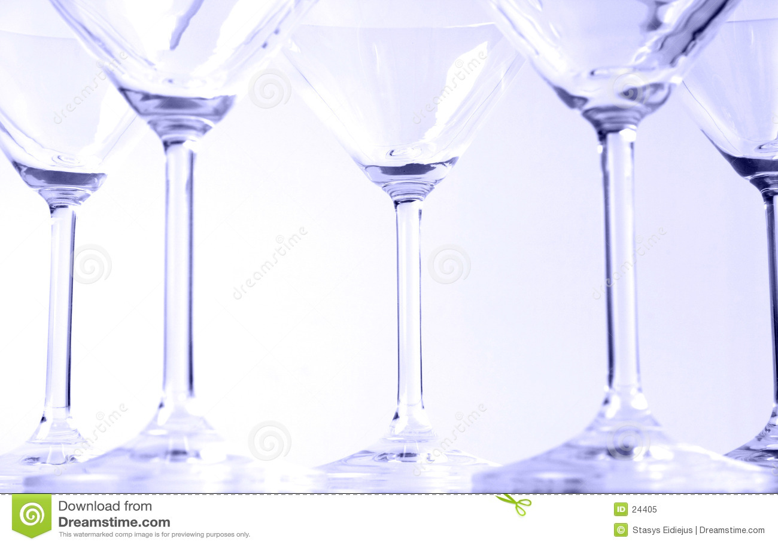Exponeringsglas martini vi