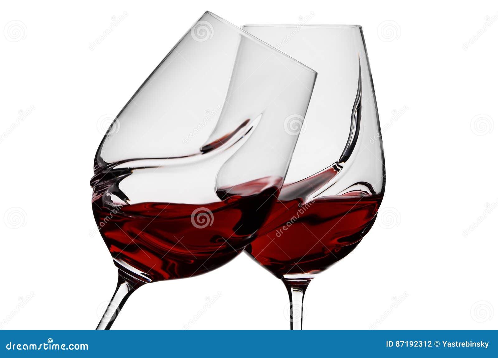 Exponeringsglas med wine