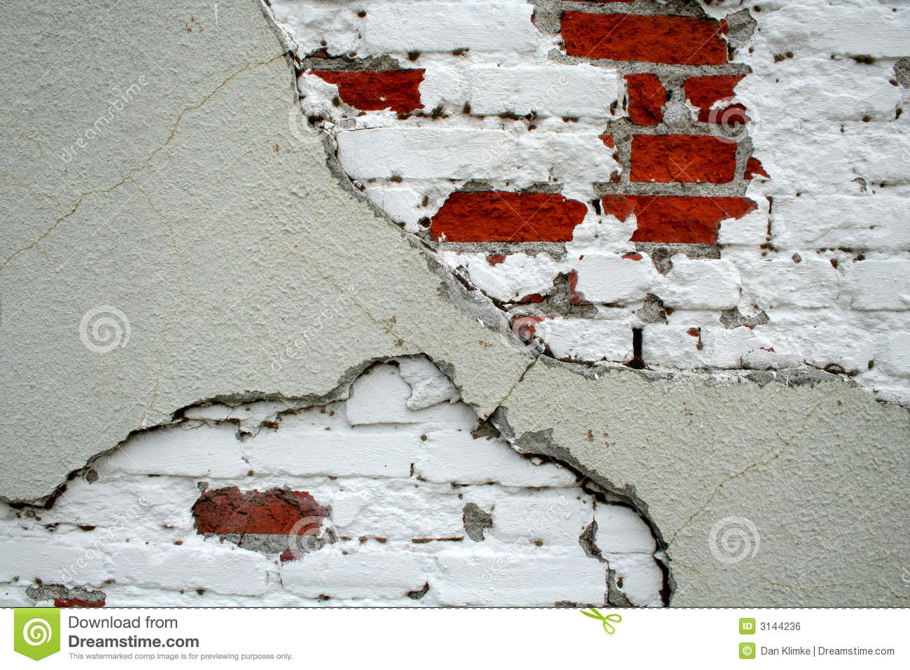 Exposed Brick Wall Exposed Brick Wall With Paint Royalty Free Stock Image Image