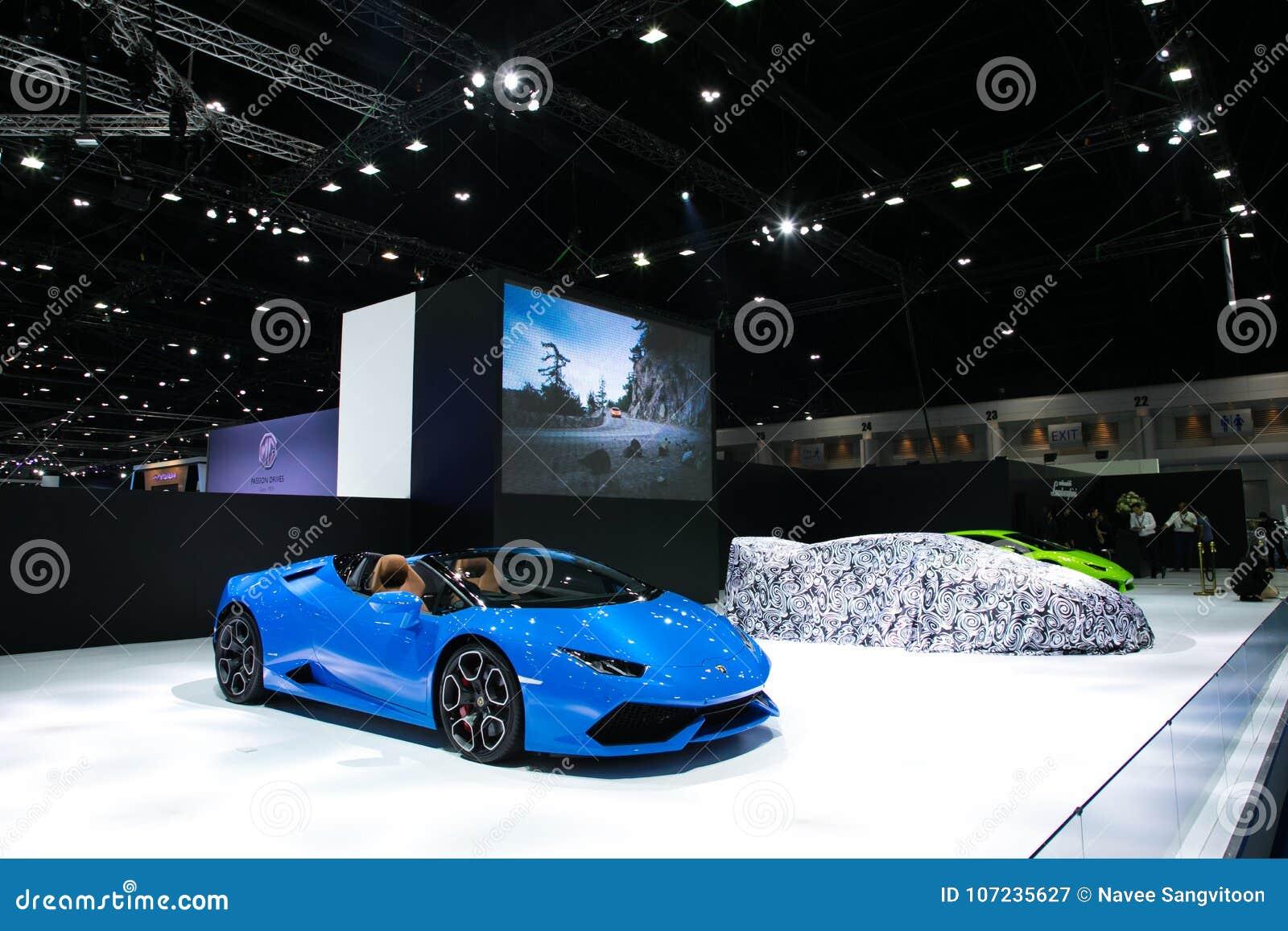 Exposição automóvel 2017 março Banguecoque Tailândia