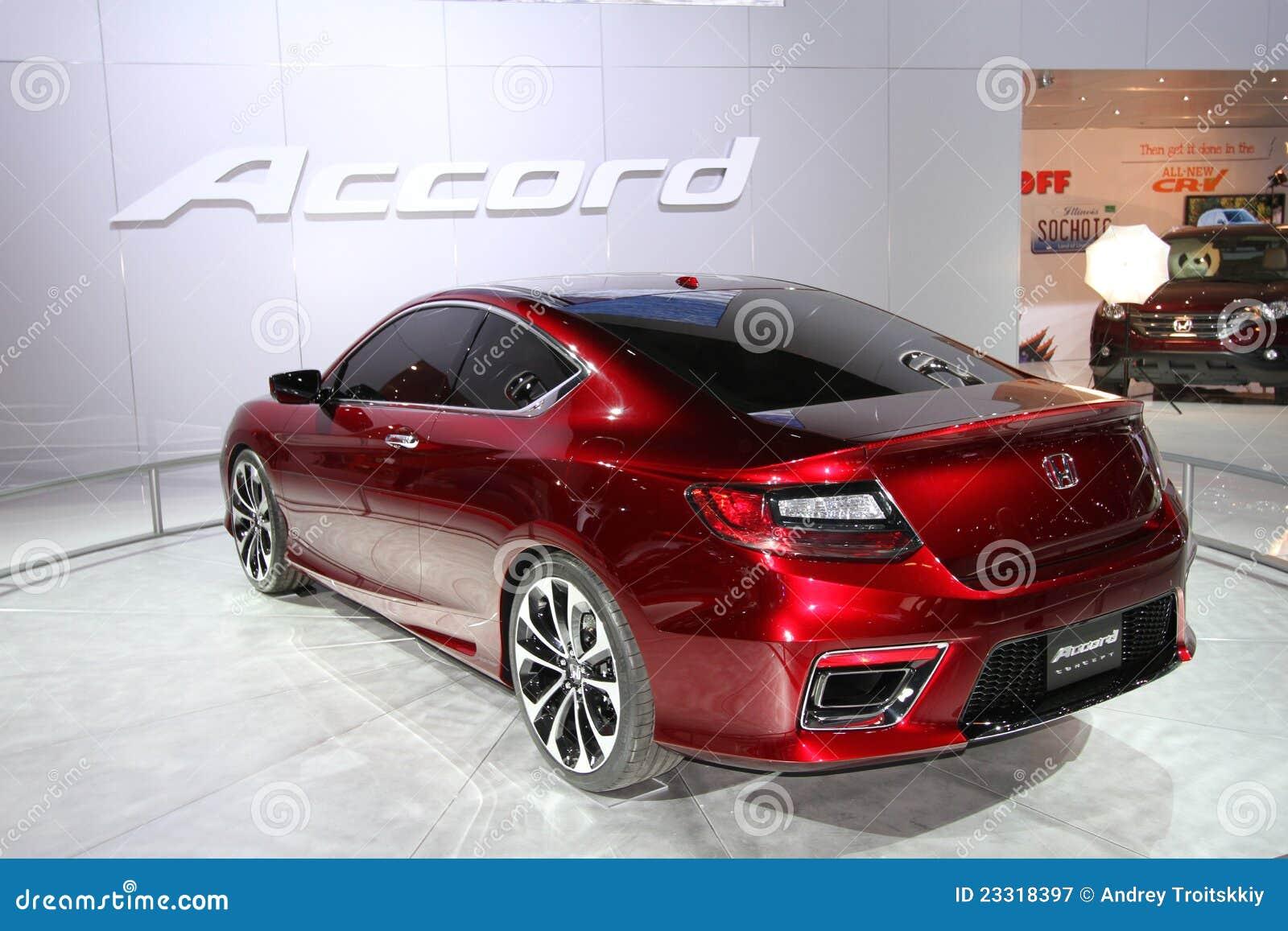 Exposição de Honda na auto mostra 2012 de Chicago