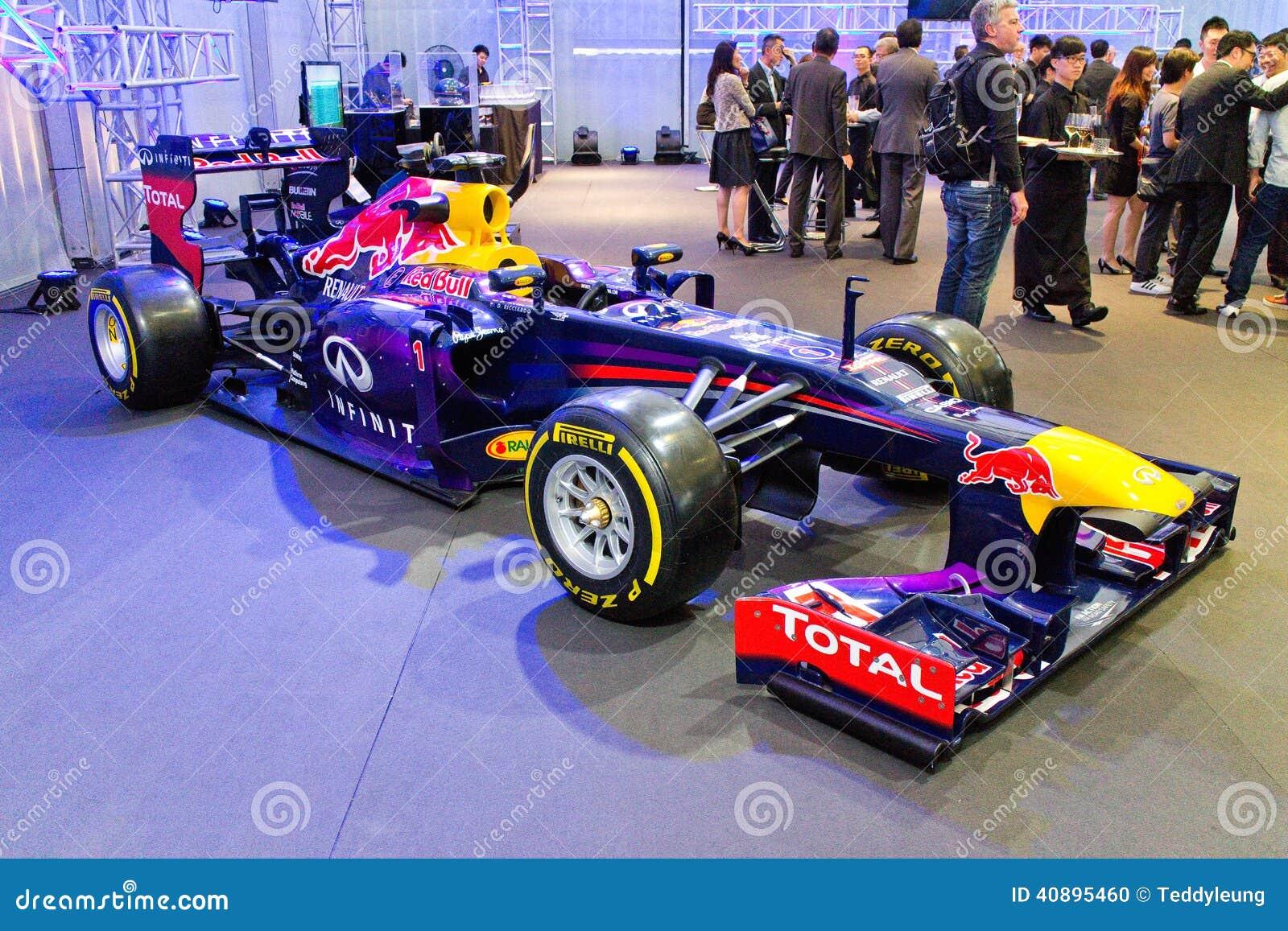 Exposi 231 227 O Do Carro De Corridas De Red Bull F1 Q100 O 23 De