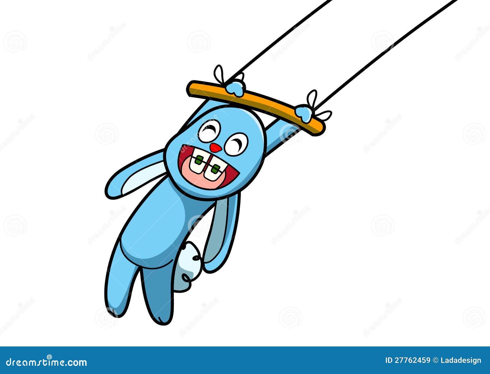 Exposition bleue de lapin