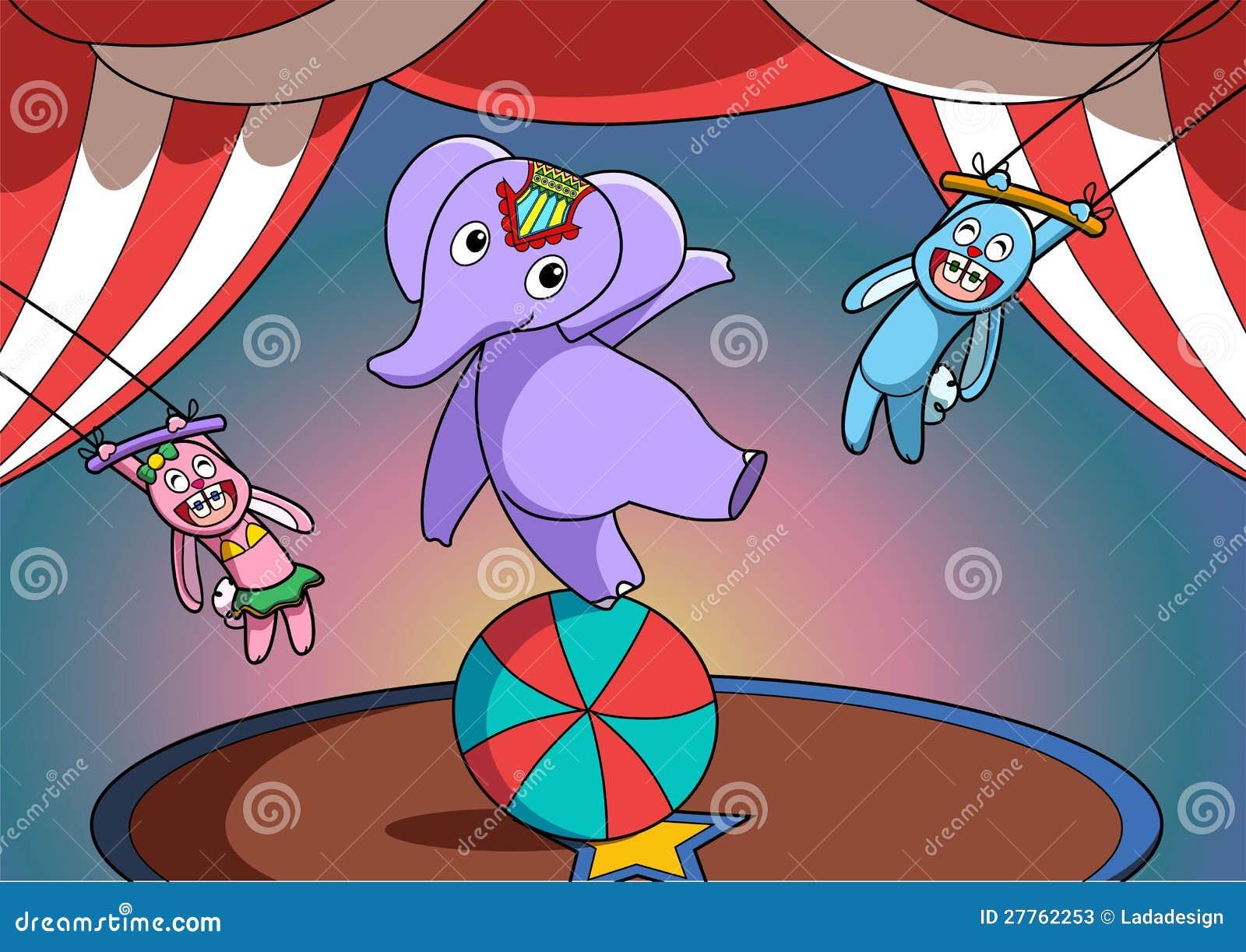 Exposition d animal de cirque