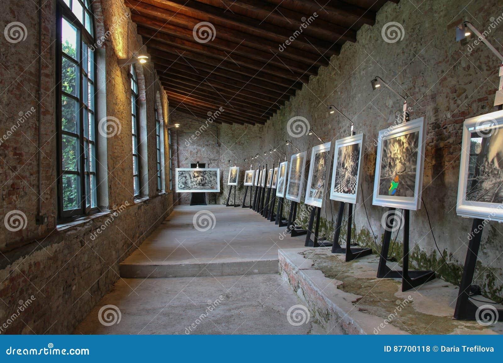 Exposition d art dans Palazzo Pfanner Lucques l Italie l europe