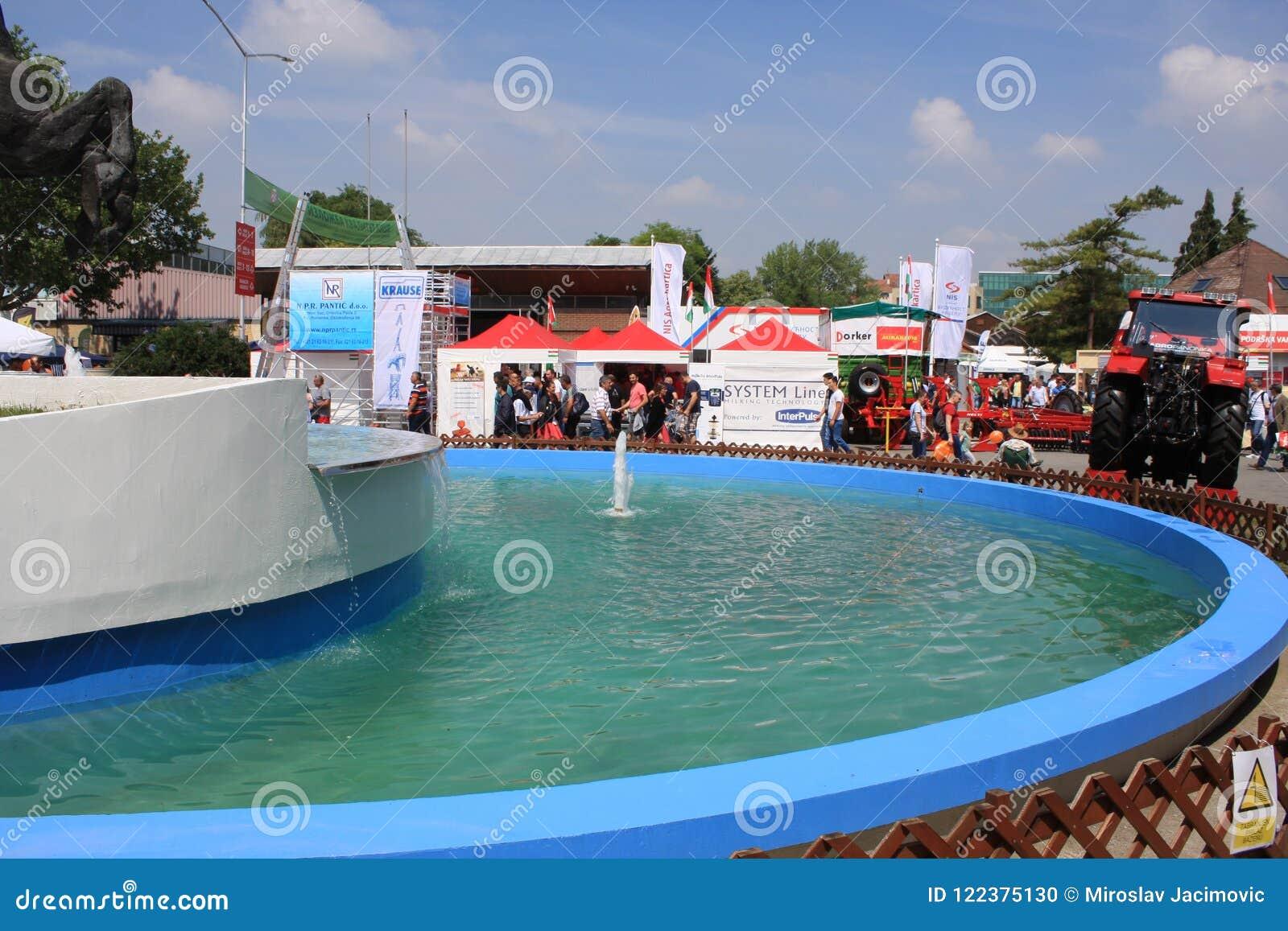 Expositions justes à Novi Sad, Serbie
