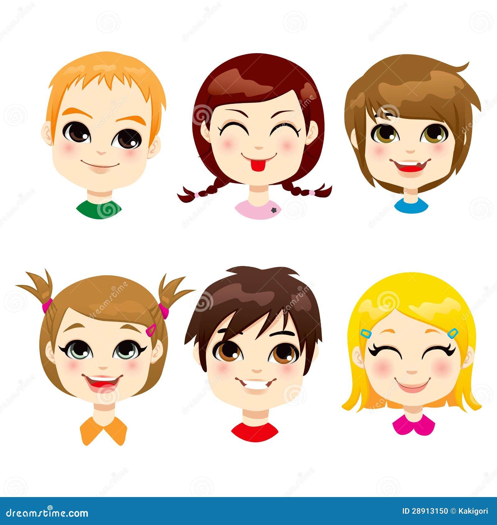 Expressão facial das crianças