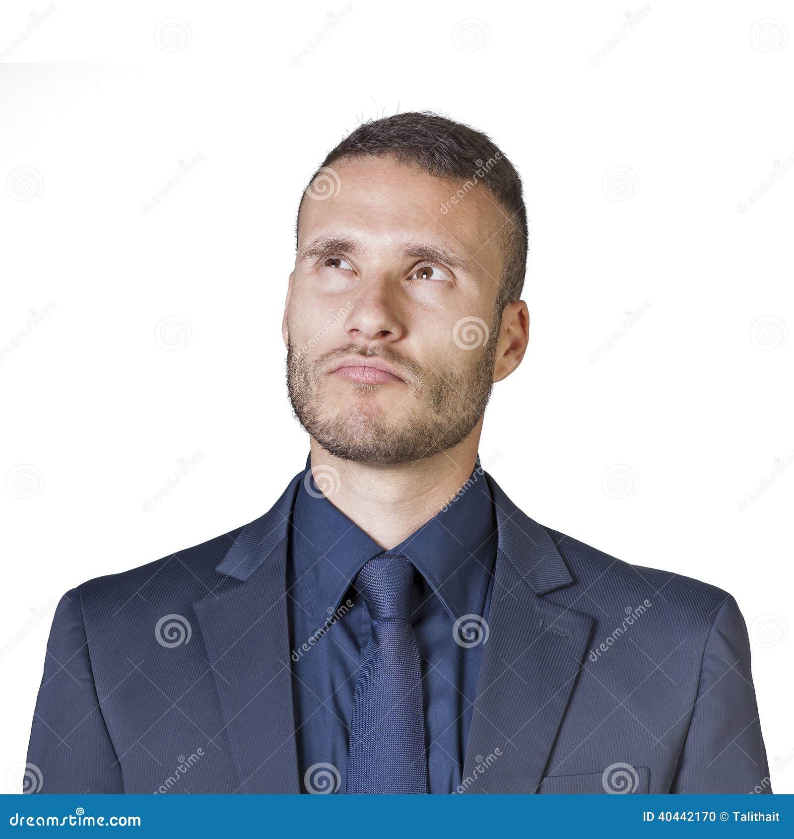 Expressões do homem de negócios