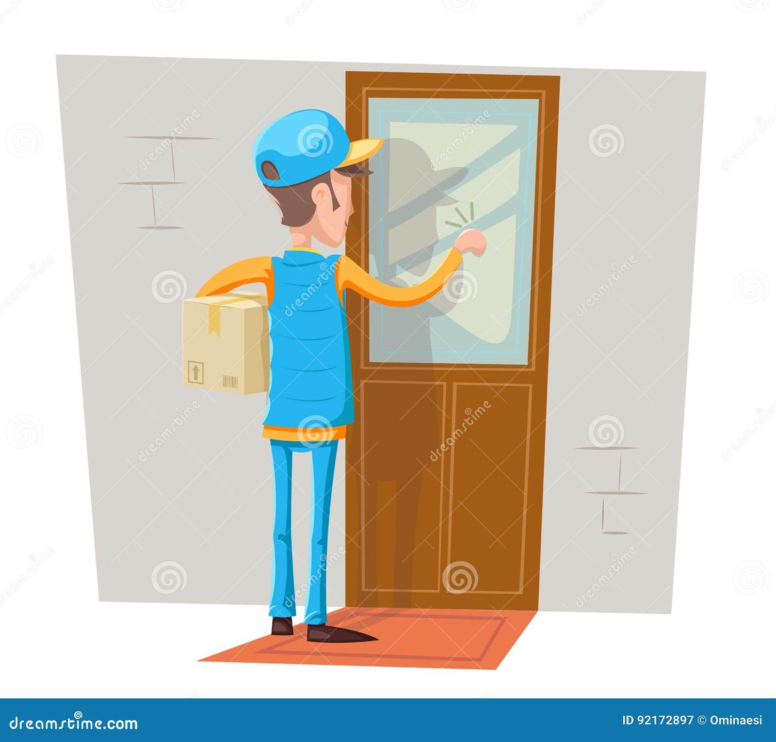 Knocking Vector Illustration | CartoonDealer.com #90339486