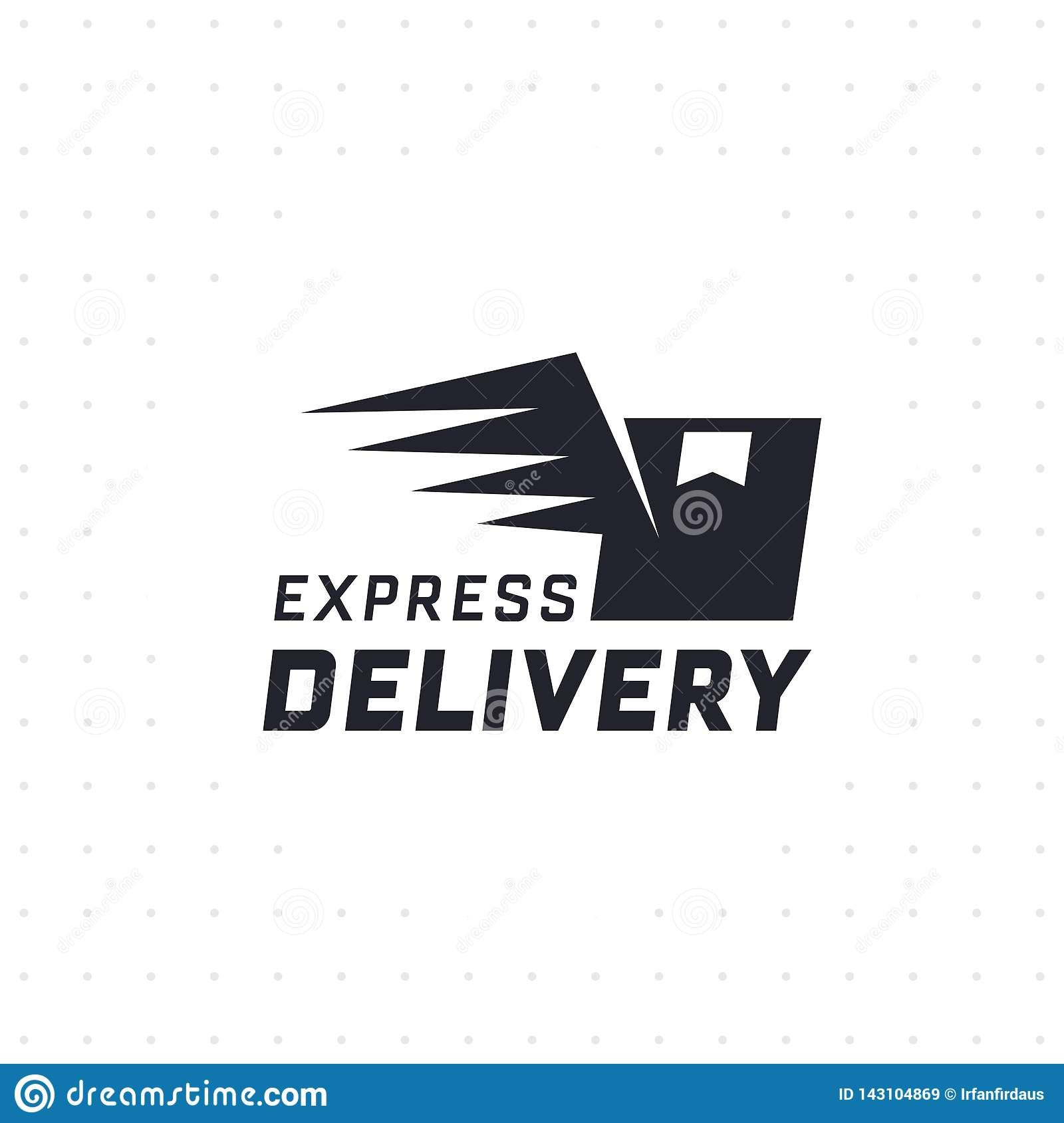 Express delivery stock vector  Illustration of free - 143104869