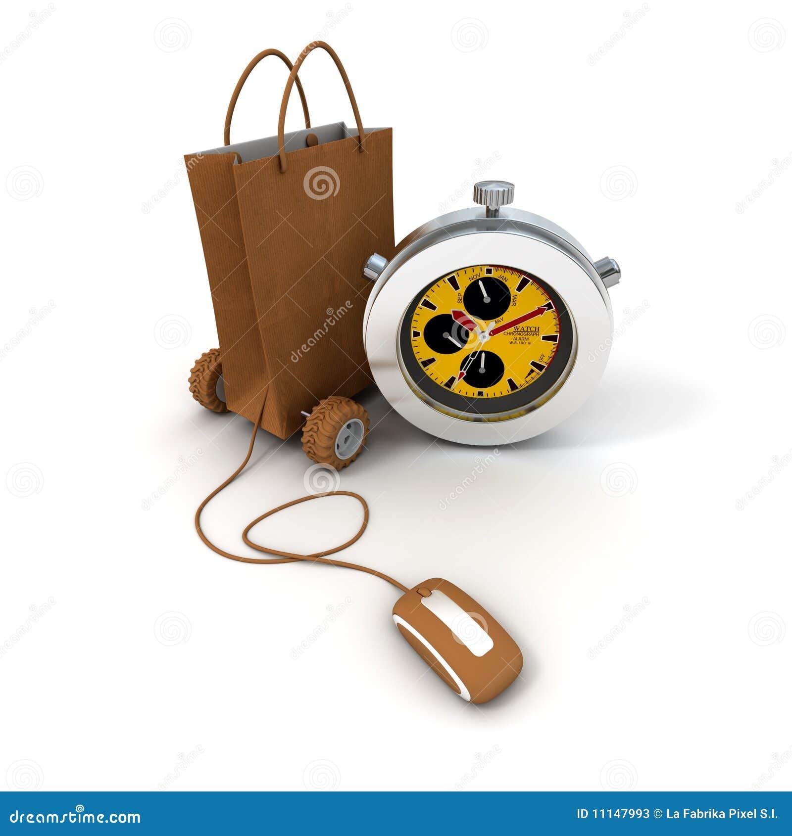 Express online shopping