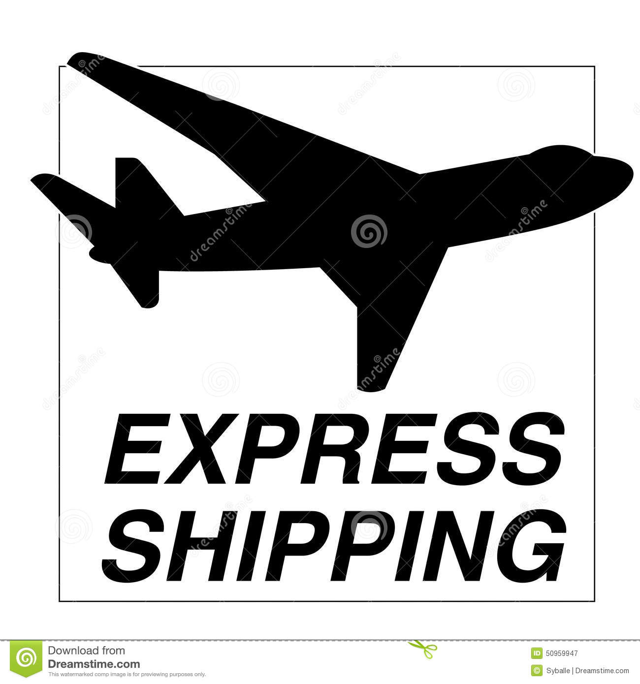 Express shipping online shopping