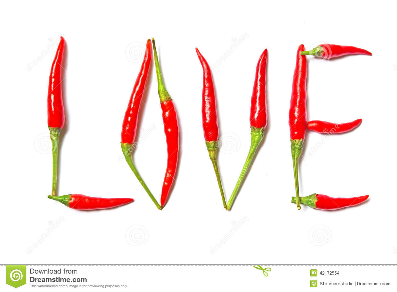 Download Hot and spicy Love stock photo. Image of desire, chili - 42172554